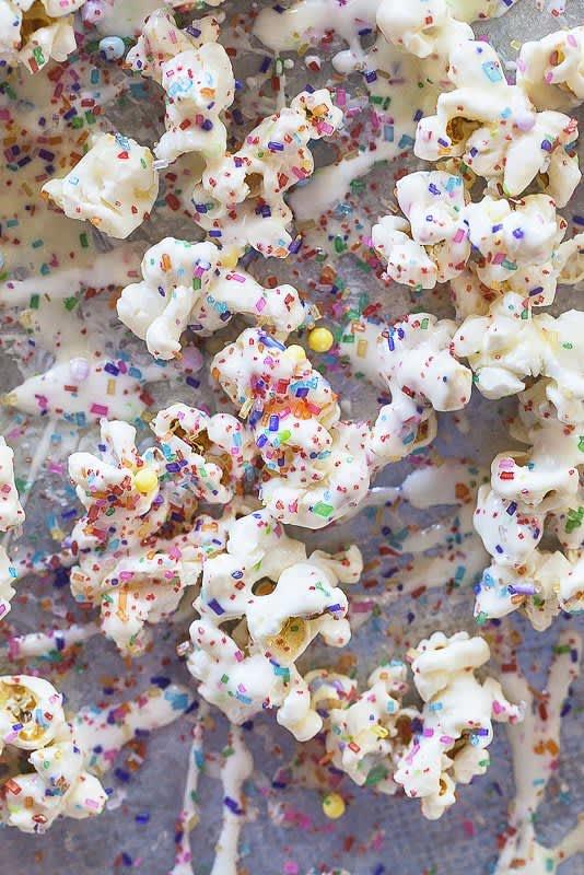 Recipe Birthday Cake Popcorn