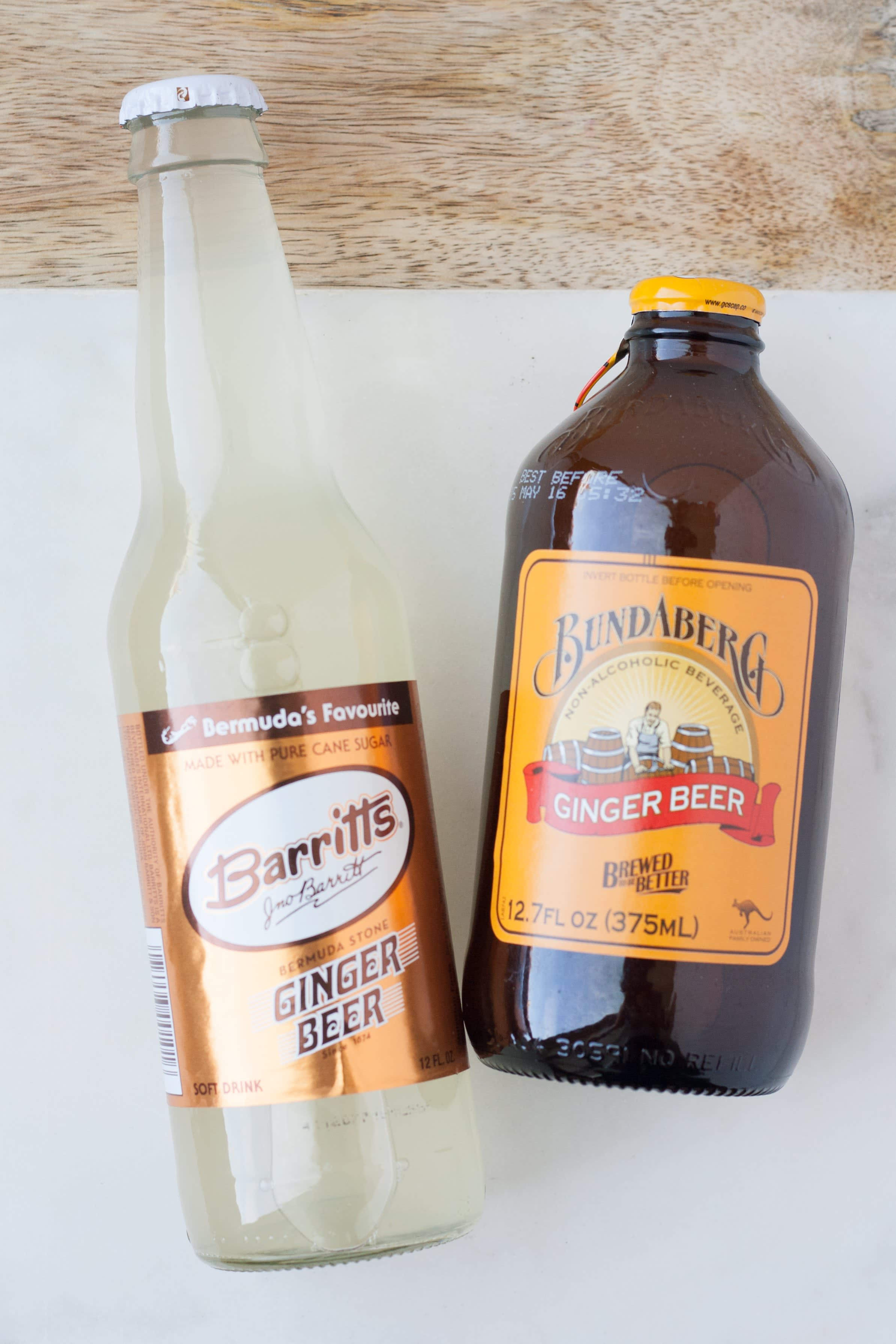 Whats The Difference Between Ginger Ale And Ginger Beer Kitchn