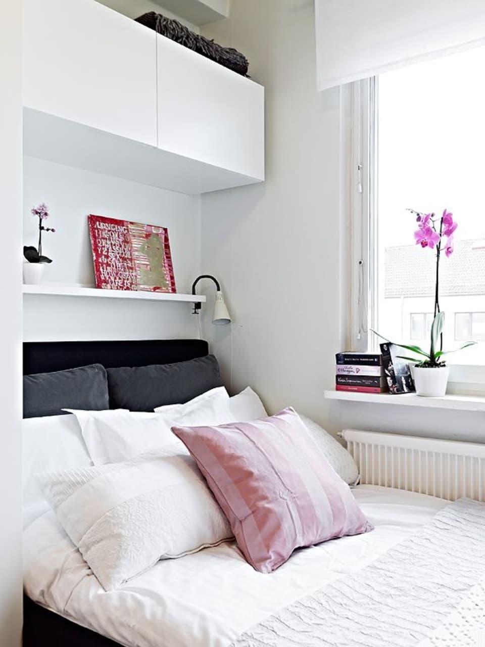 wandkasten in slaapkamer