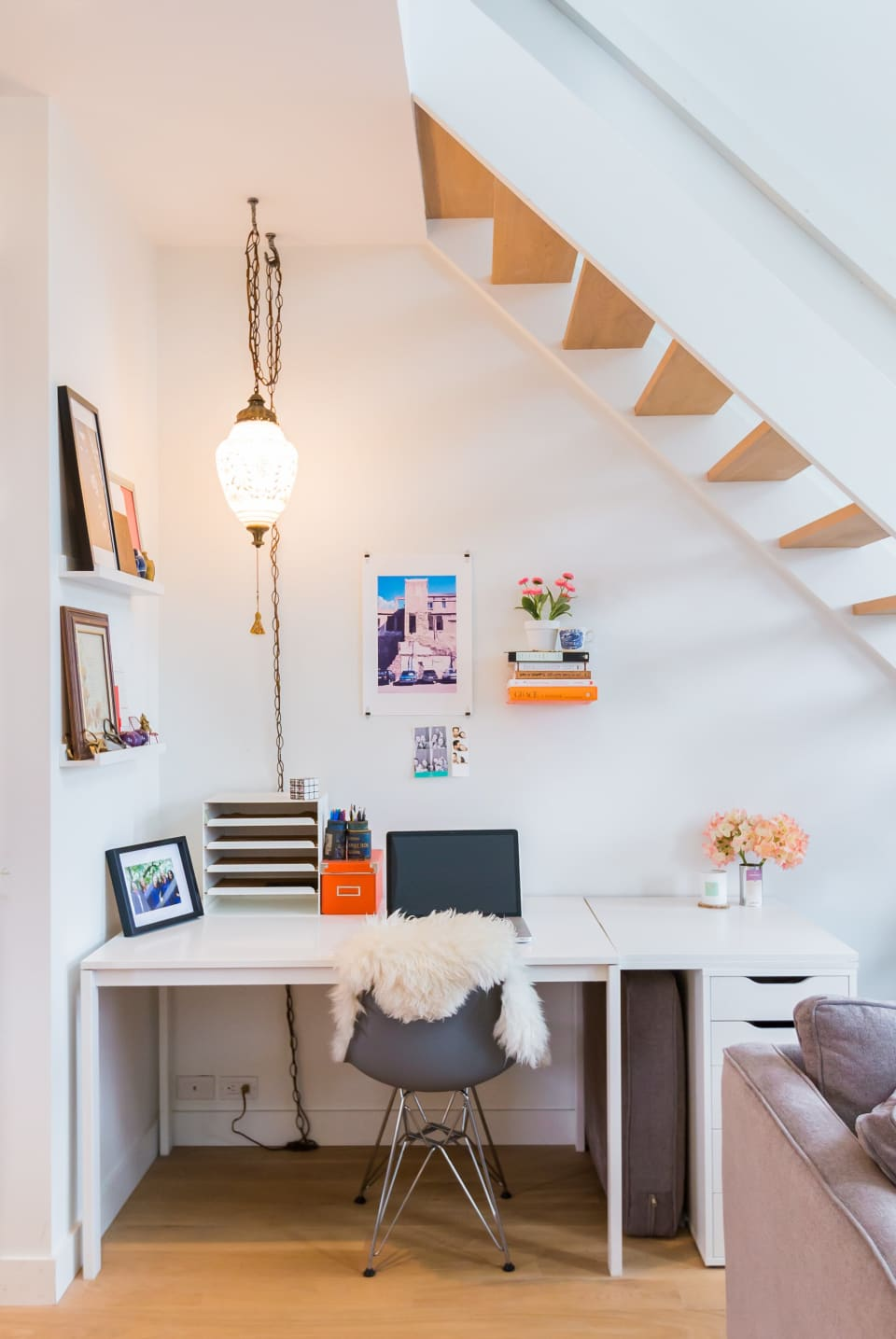 bureau onder trap