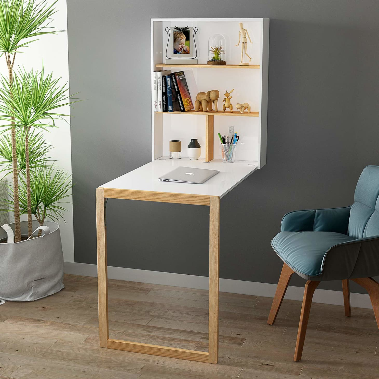 The Best Wall-Mounted Folding Desks 2019 | Apartment Therapy