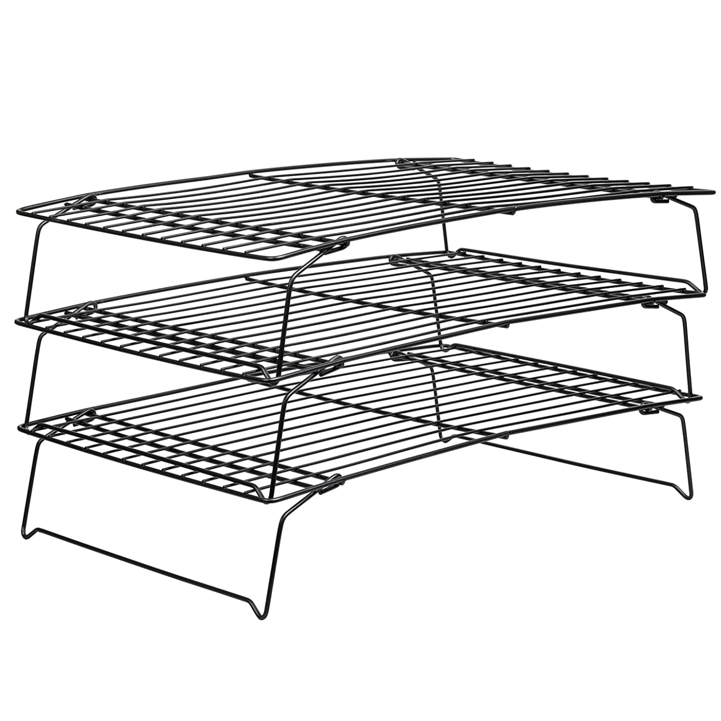 Superb Use A Stackable Cooling Rack To Double Your Refrigerators Home Interior And Landscaping Transignezvosmurscom