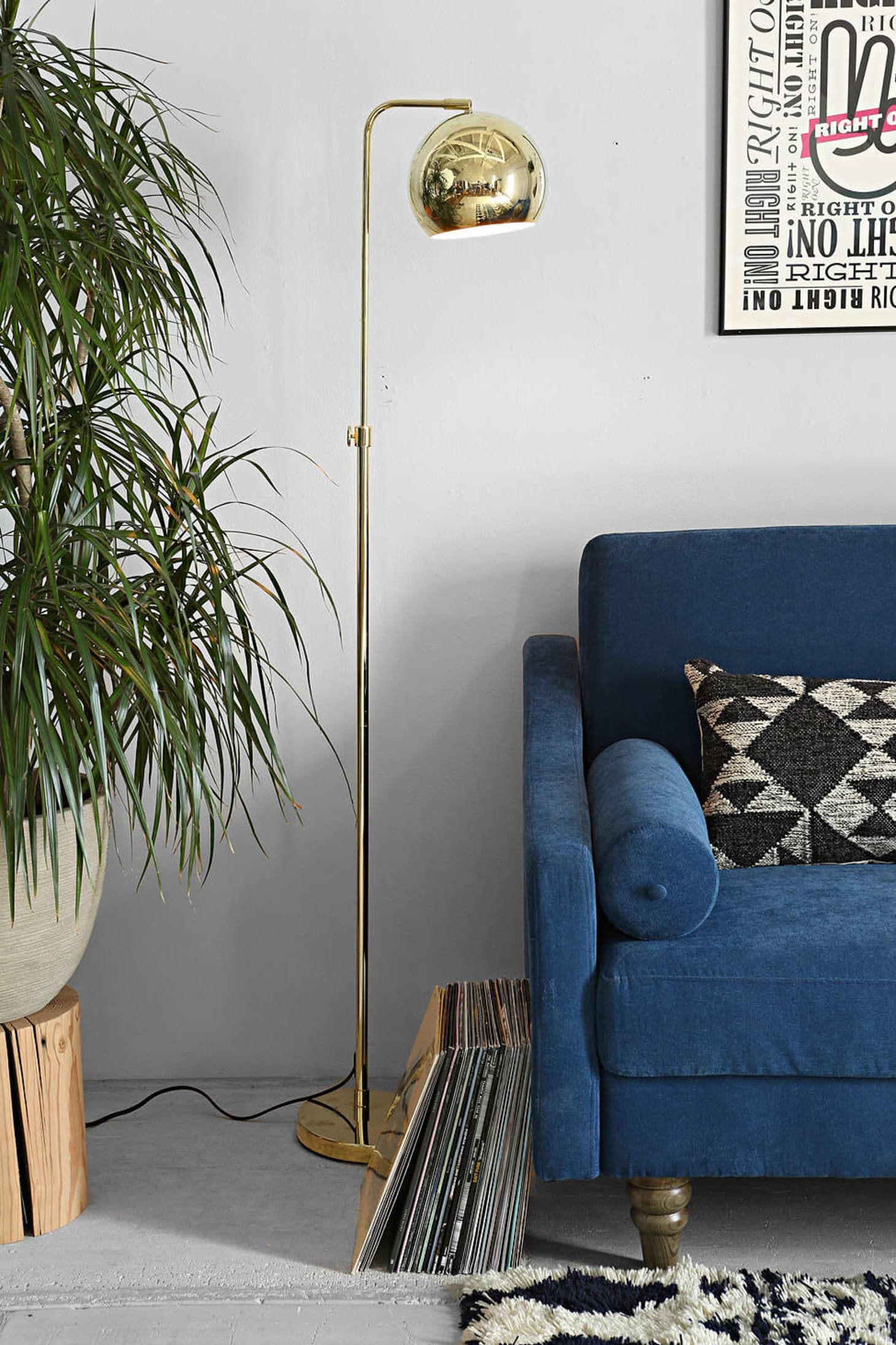 12 Of Our Favorite Brass Floor Lamps Apartment Therapy