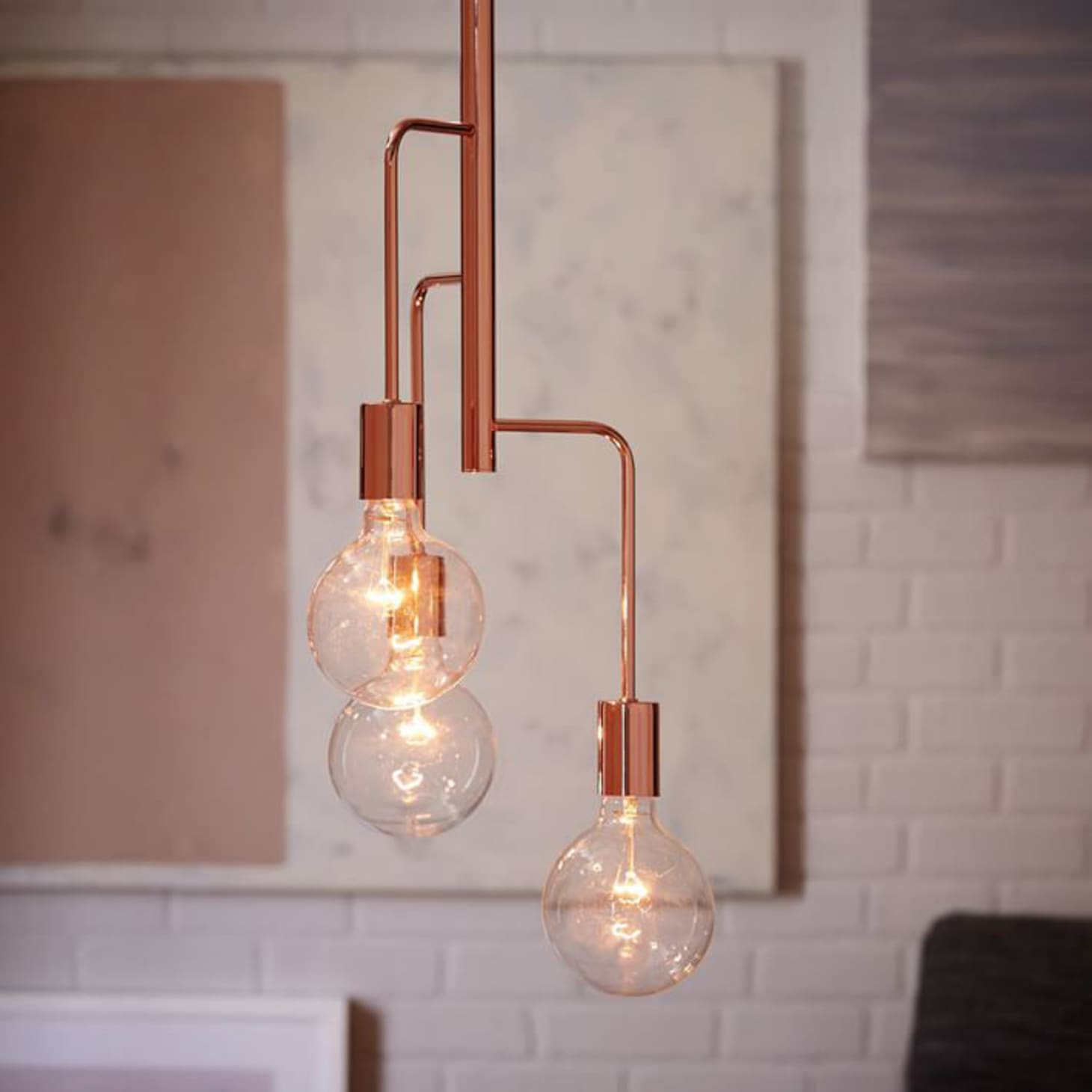 Low Medium High 10 Beautiful Modern Copper Chandeliers