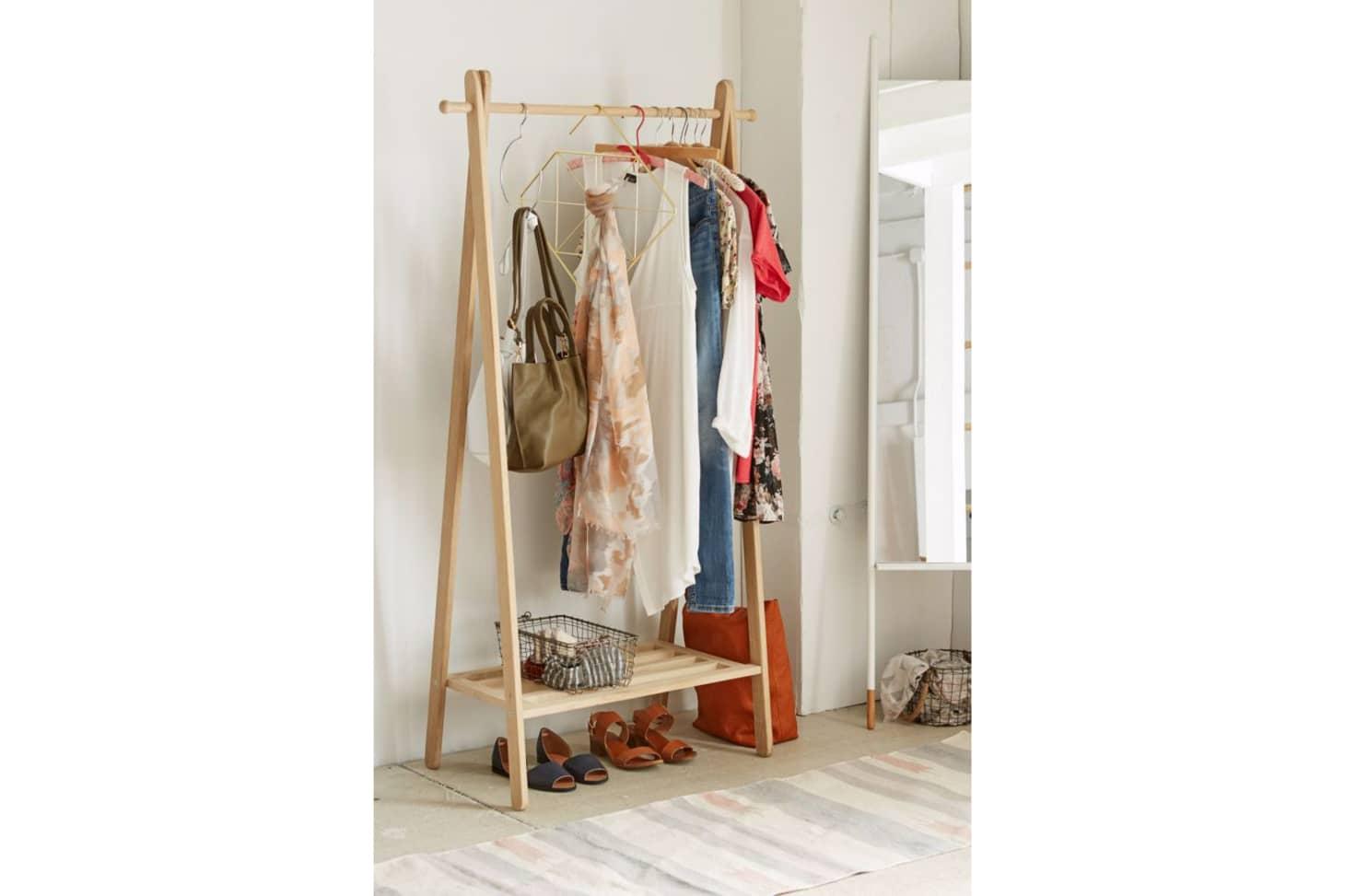 The Best Freestanding Wardrobe Clothes Racks Apartment