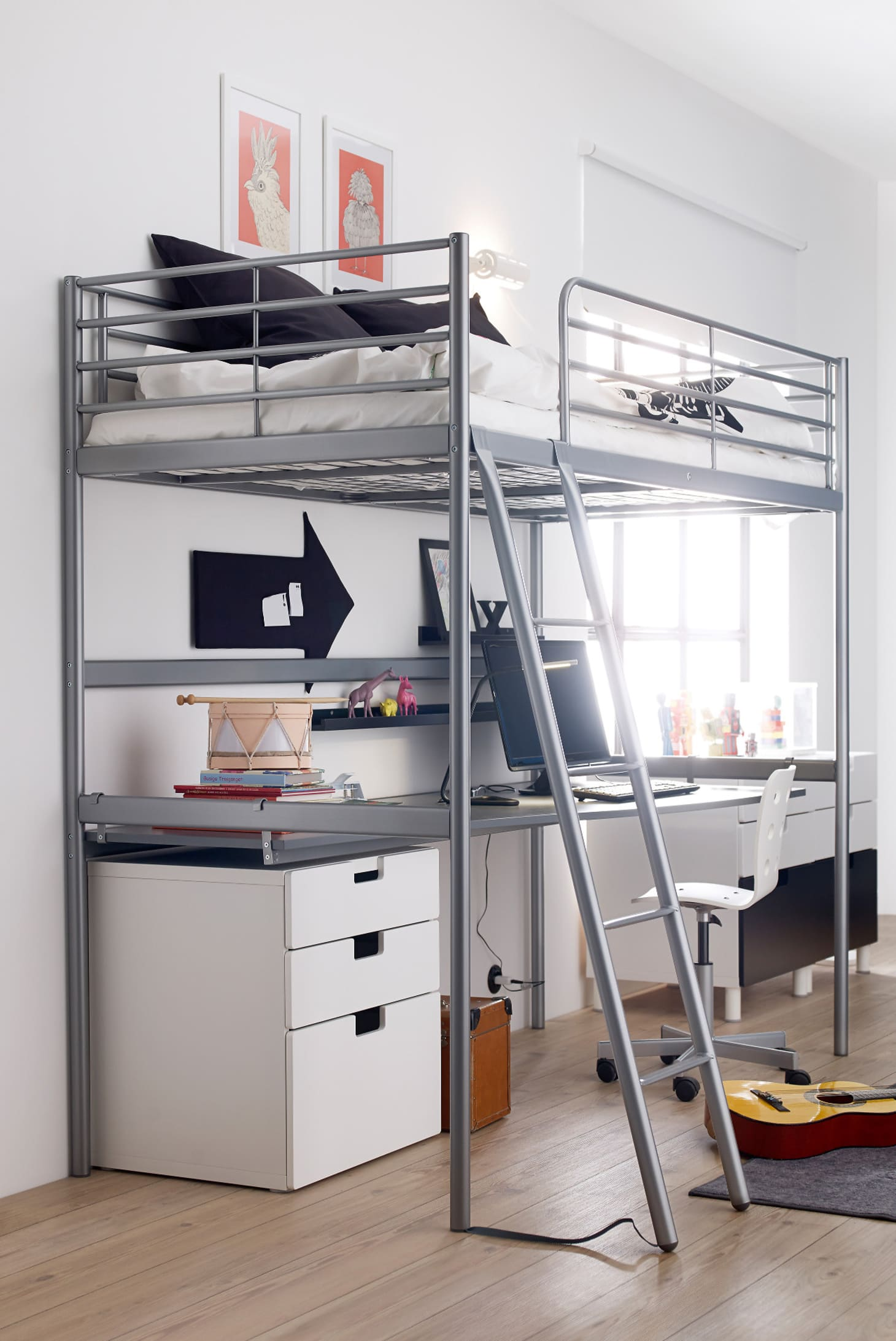Full Size Loft Bed.11 Full Size Modern Loft Beds For Adults Apartment Therapy