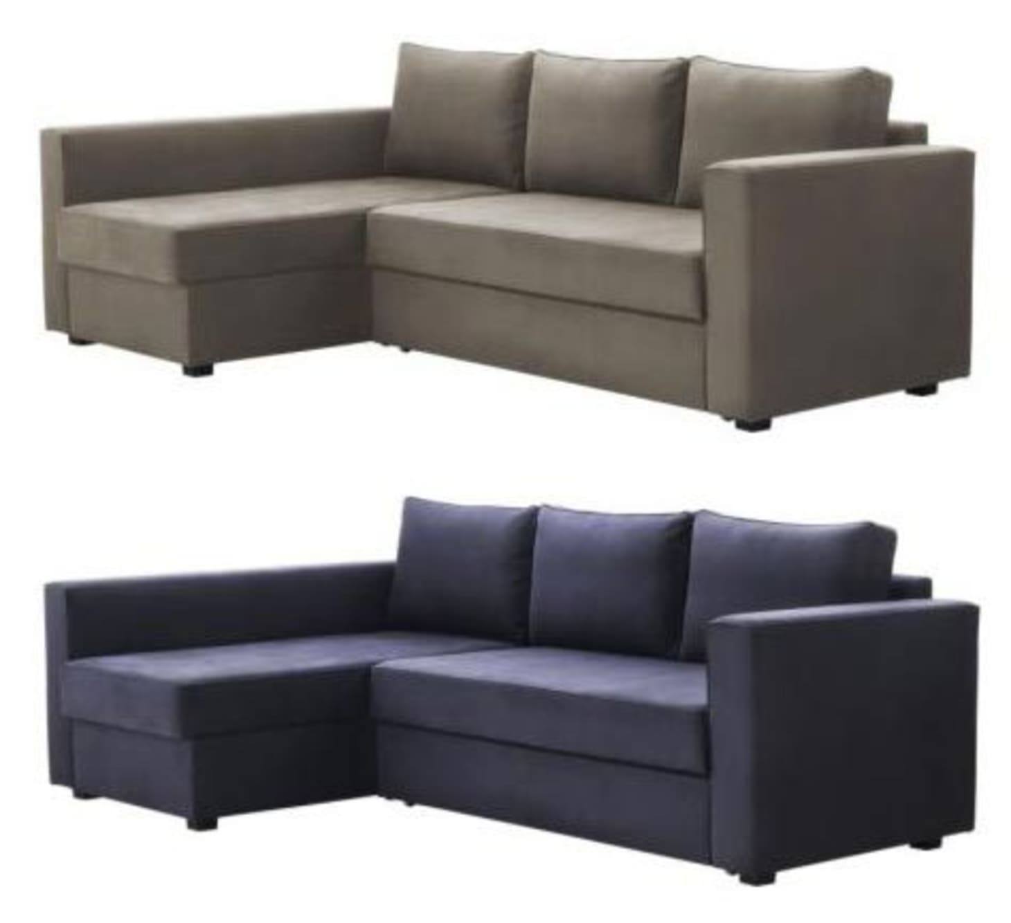 buy online 6596e 38f7c MANSTAD Sectional Sofa Bed & Storage from IKEA | Apartment ...