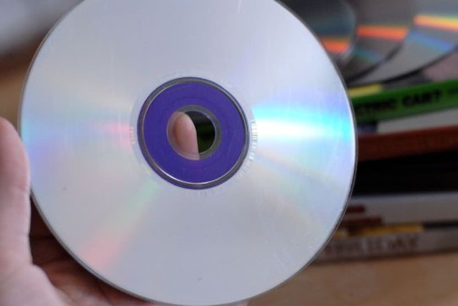 How to Fix Scratched DVDs & CDs Using Common Household