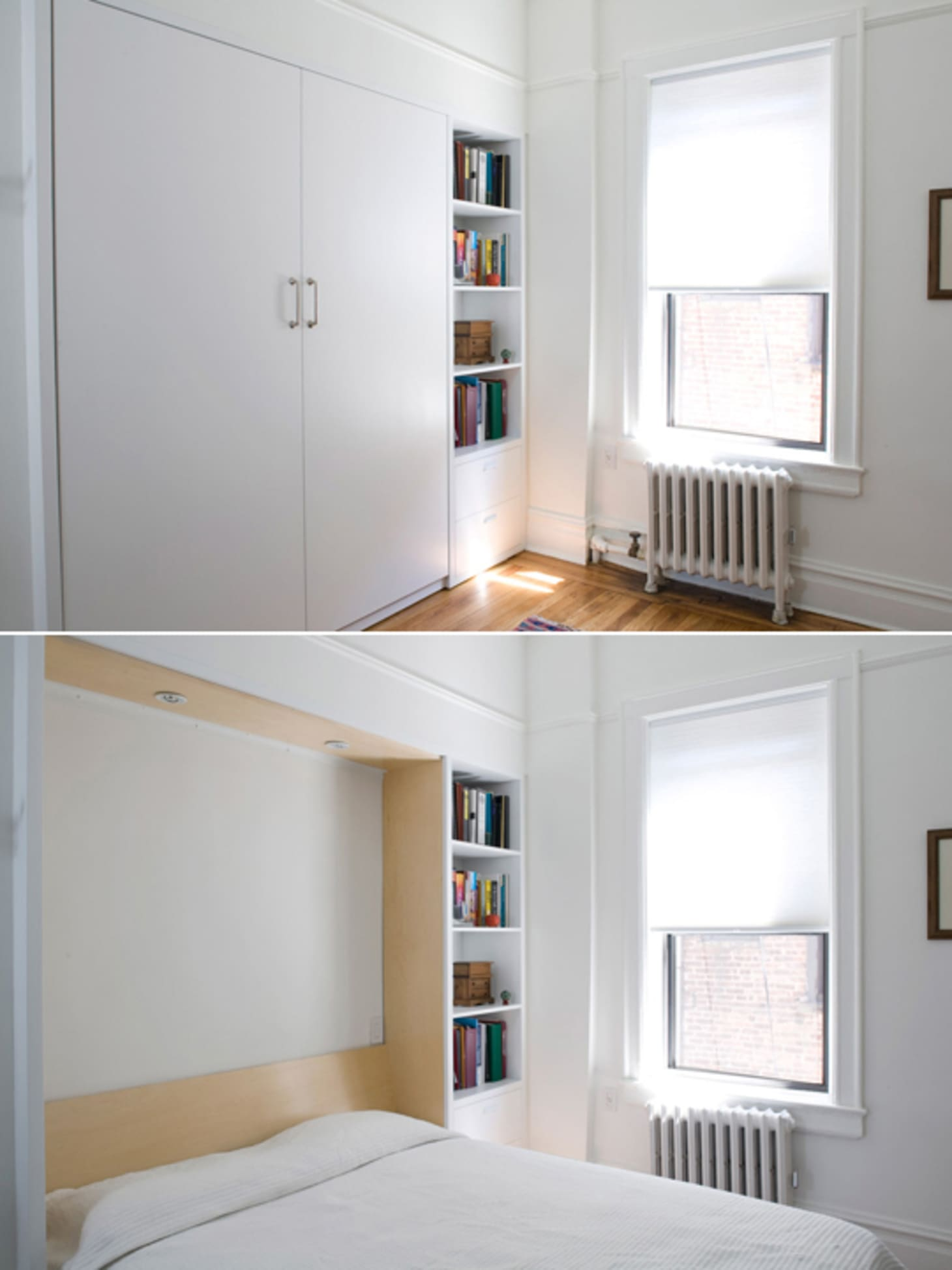 Gary And Ellen S Storage Savvy Apartment Apartment Therapy