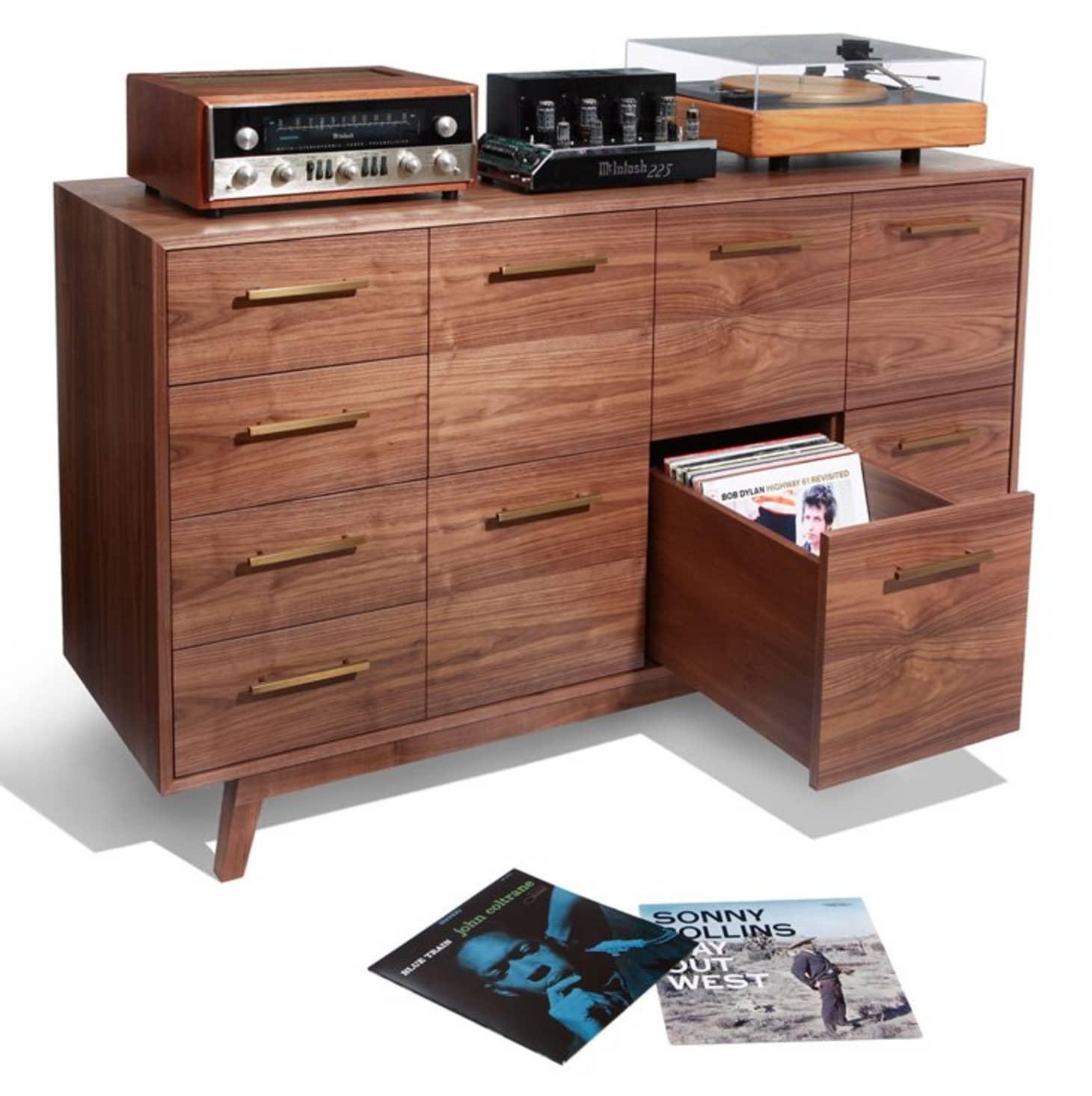 Brilliant Vinyl Record Storage 25 Best Storage Solutions Apartment Download Free Architecture Designs Scobabritishbridgeorg