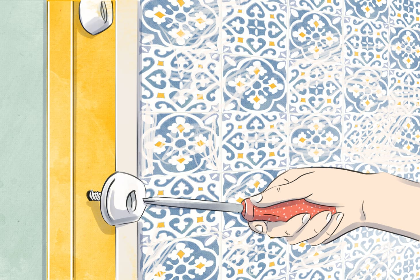 Removing Old, Bulky Shower Doors Is Much Easier Than You