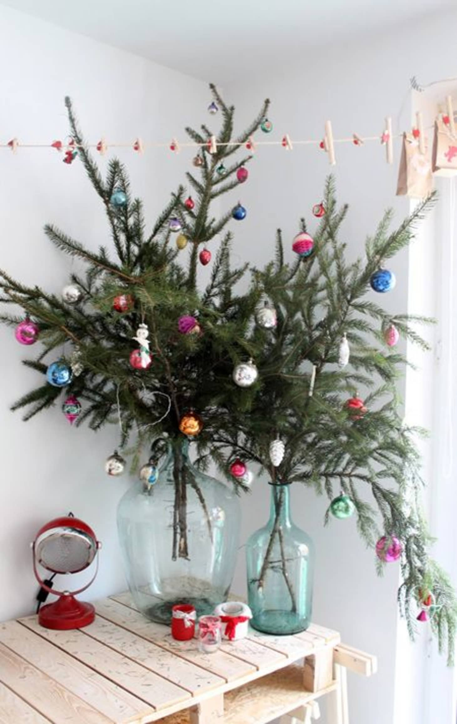 Apartment Christmas Decorations Small Space Ideas