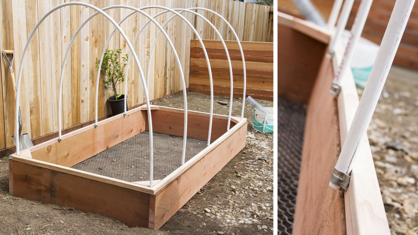 DIY Covered Greenhouse Garden: A Removable Cover Solution to