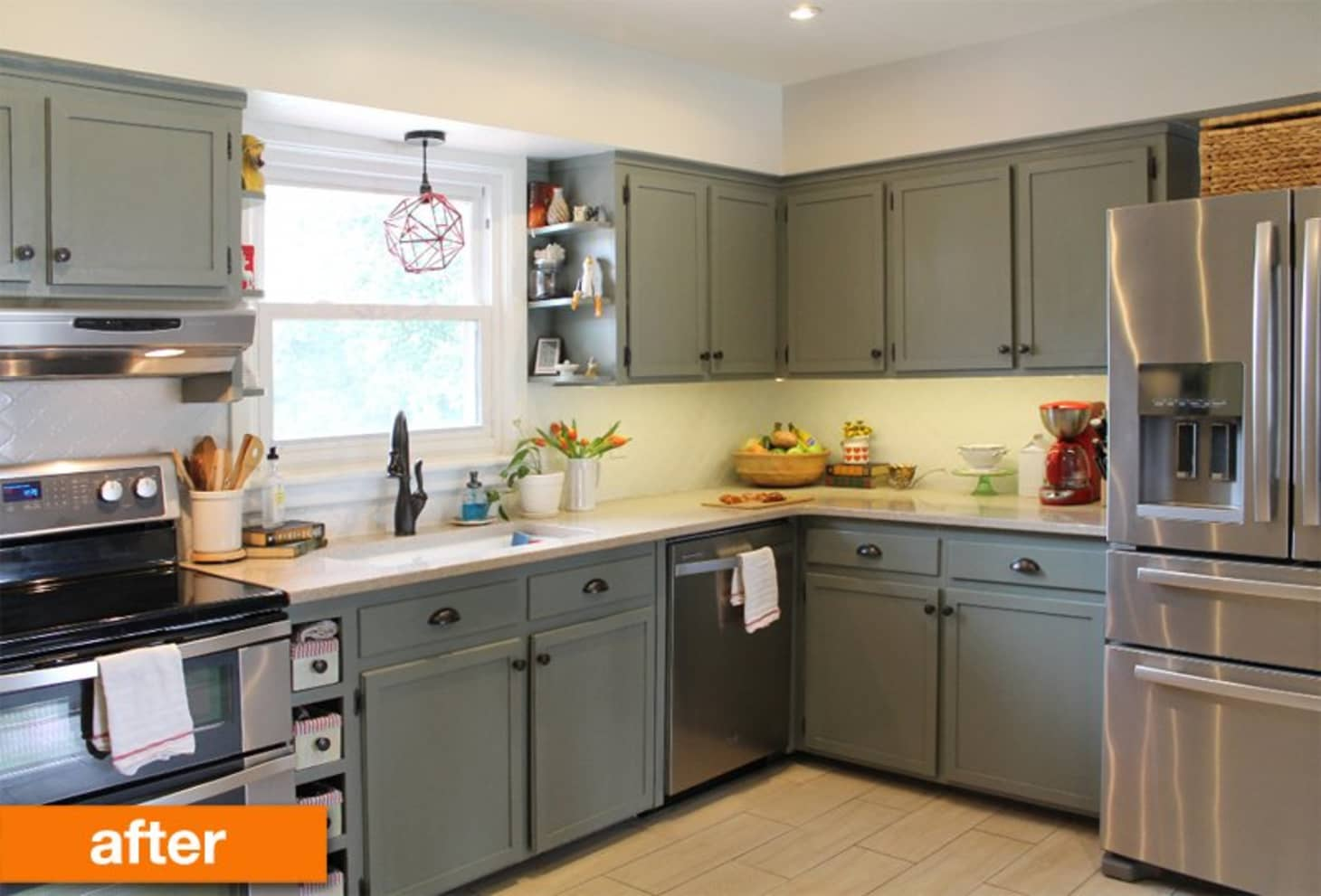 Before & After: A 1950s Kitchen Gets a Modern DIY Makeover ...