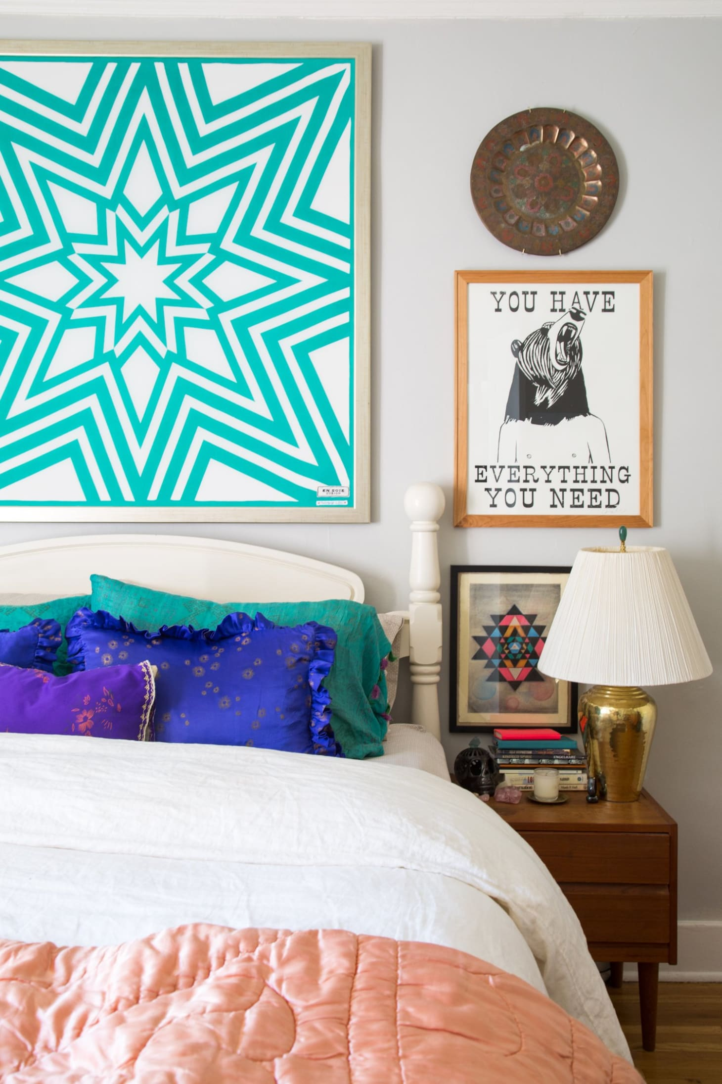 Working With White Walls: 6 Ideas From Bold Bedrooms of Real ...