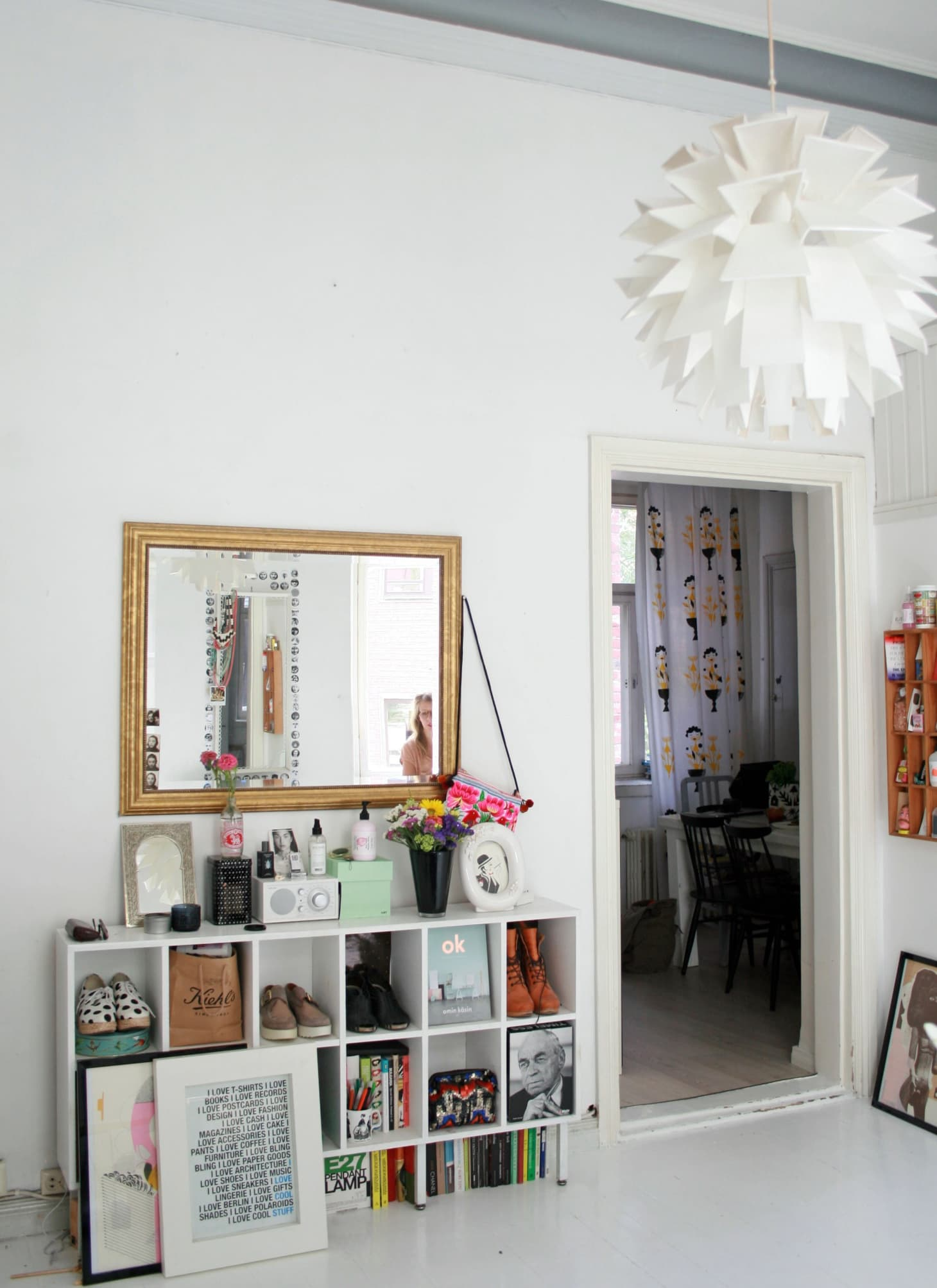 House Tour A Quirky 430 Square Foot Helsinki Loft