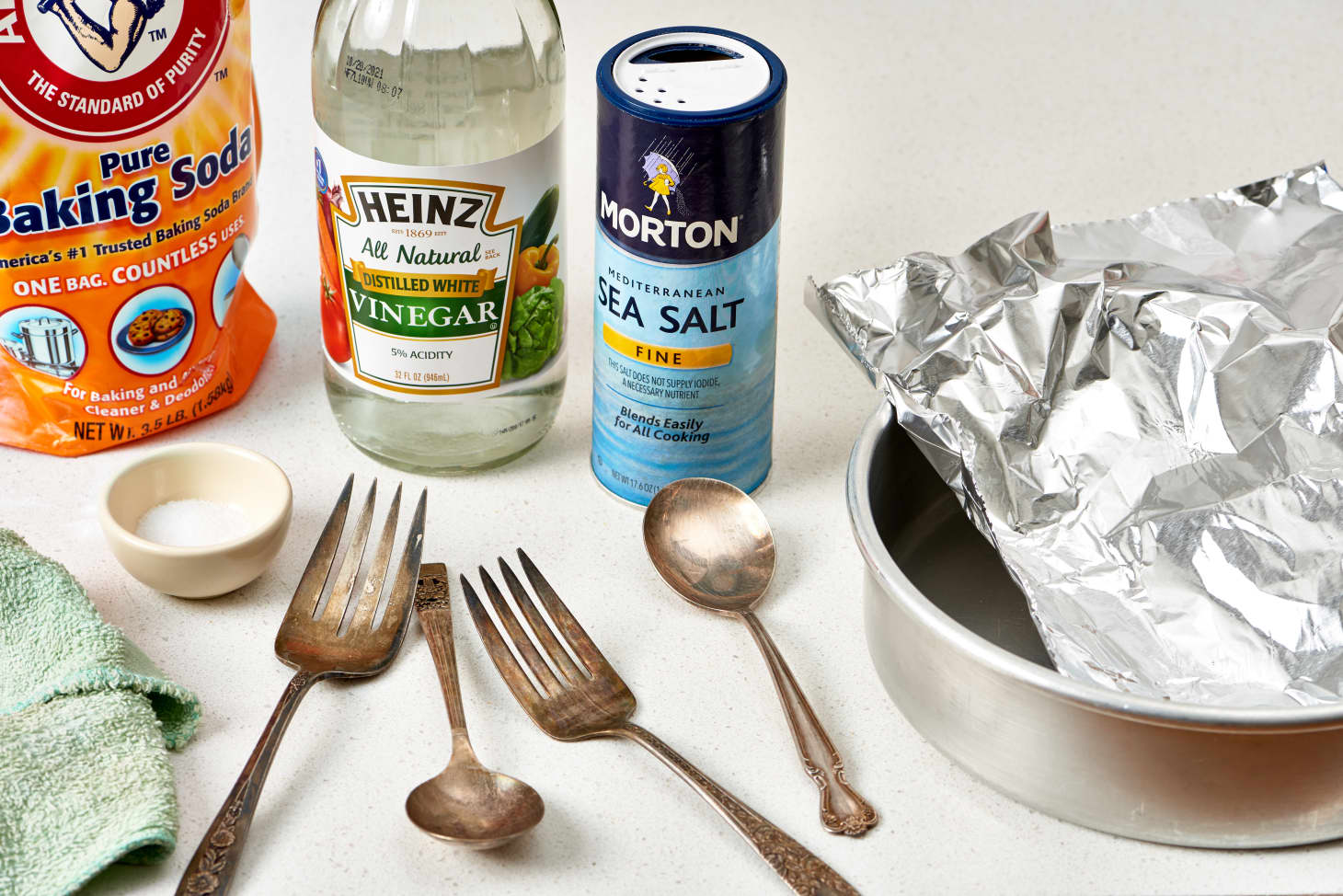The Best Way to Clean & Polish Silver - Baking Soda and Aluminum