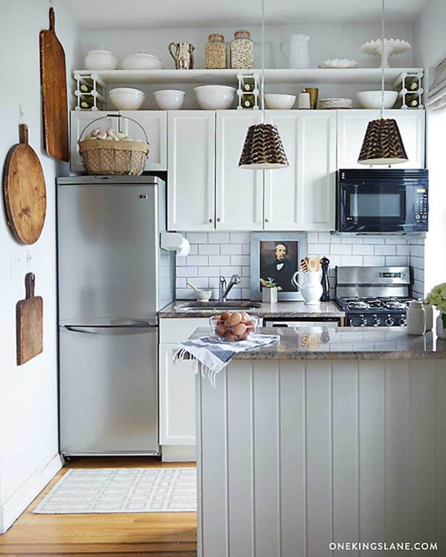 7 Things to Do with That Awkward Space Above the Cabinets ...