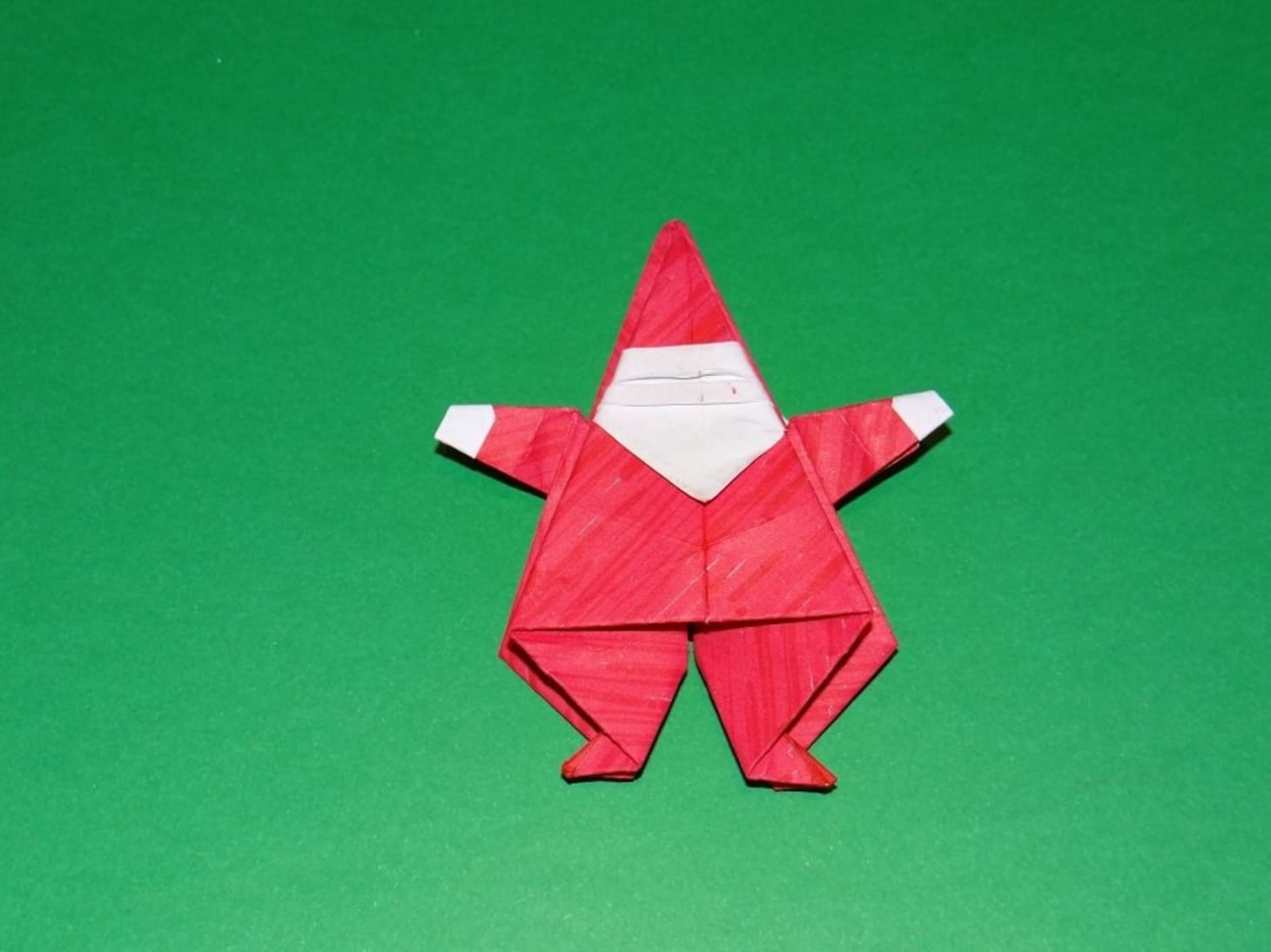 Christmas Origami.Origami Christmas Ornaments Apartment Therapy