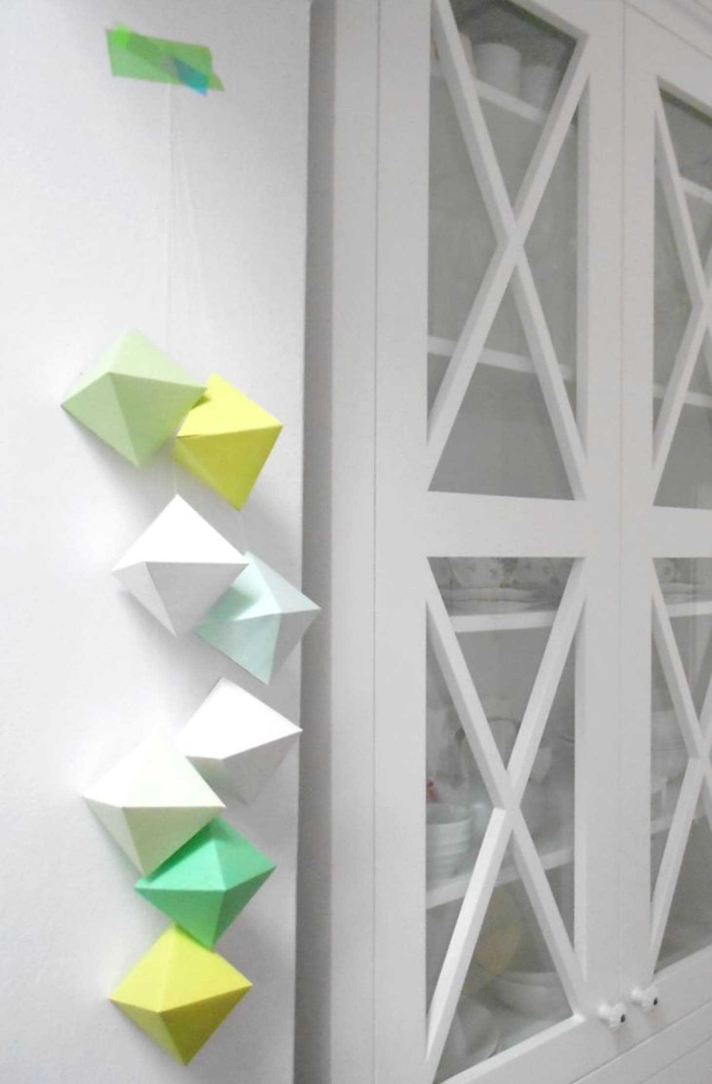 Origami Christmas Ornaments | Apartment Therapy