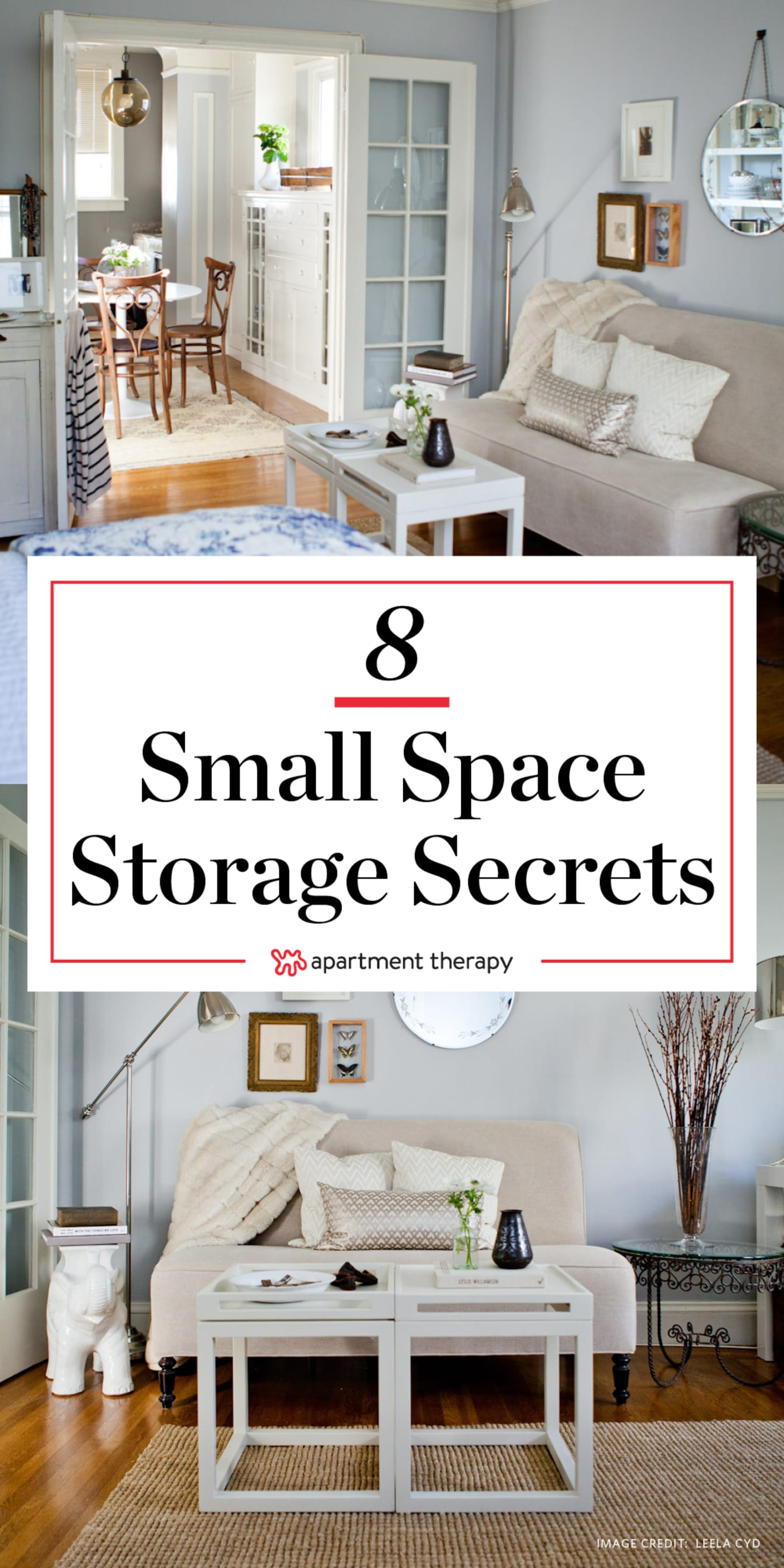 8 Sneaky Small Space Solutions   Apartment Therapy