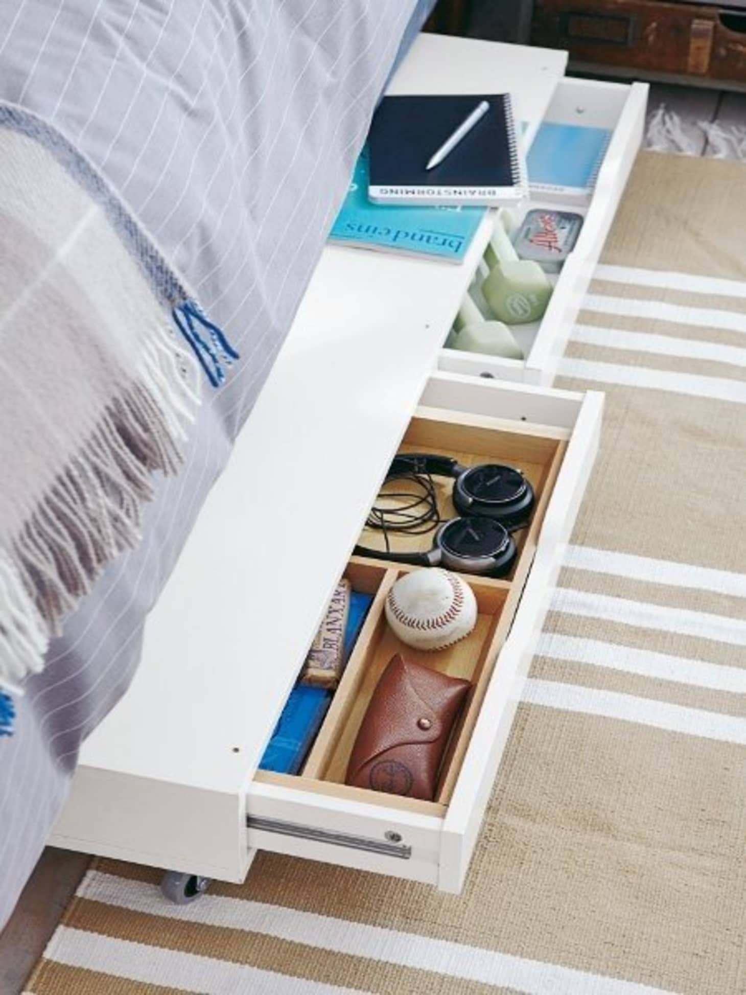 11 Ways to Squeeze a Little Extra Storage Out of a Small Bedroom ...