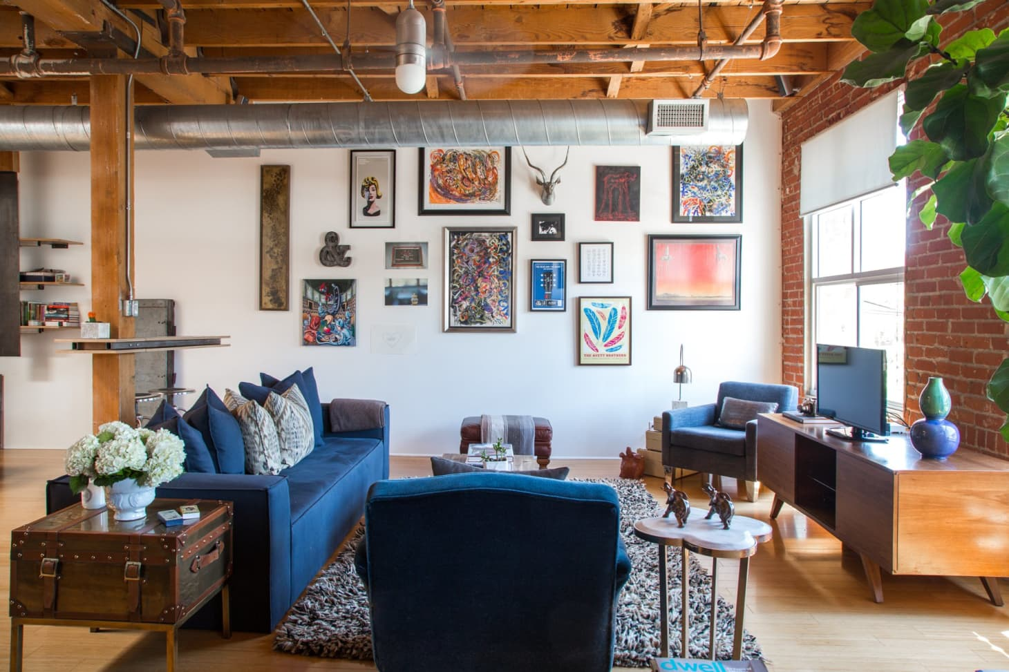 Greg S Remodeled Live Work Space Apartment Therapy