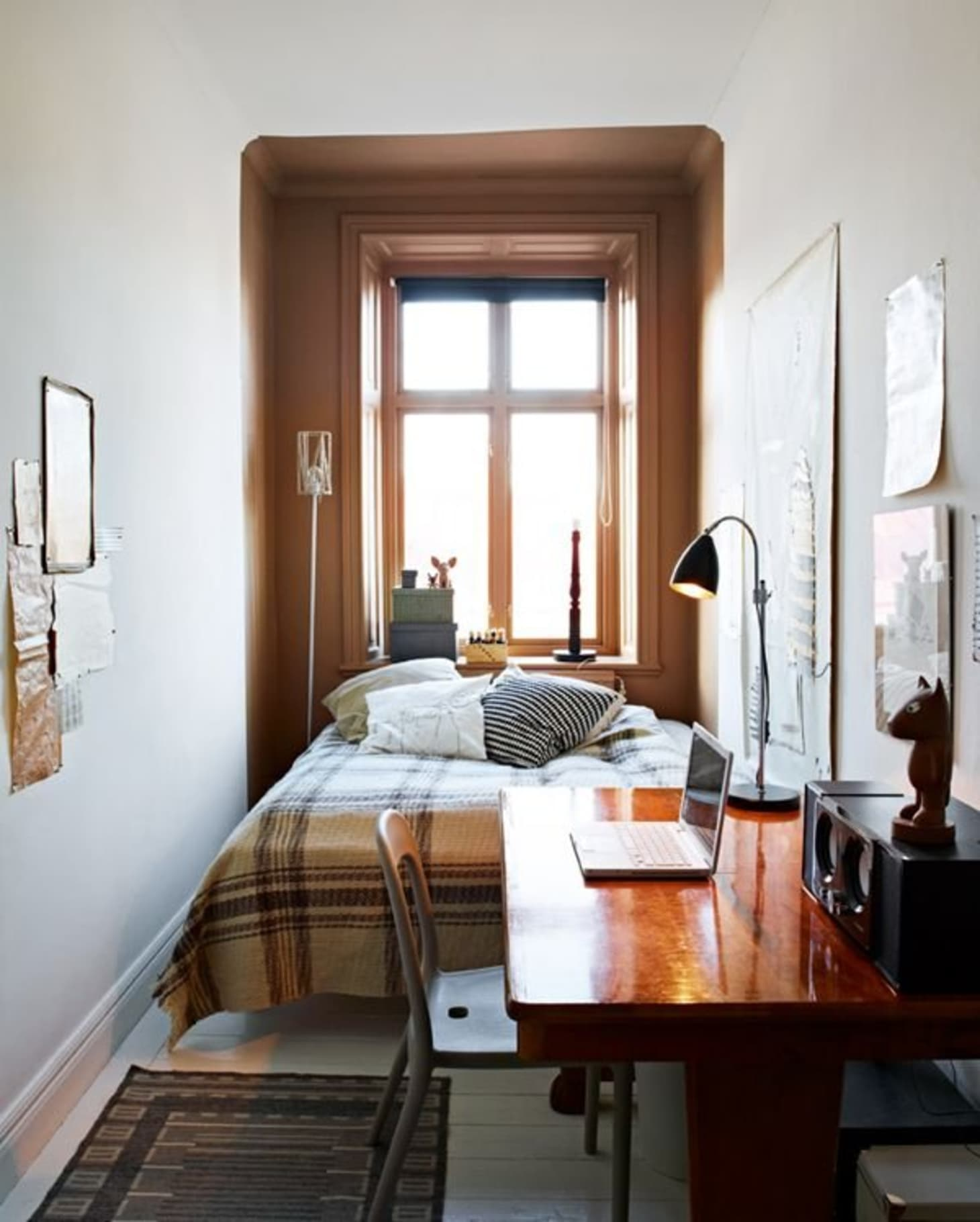. Narrow Bedroom Decorating Ideas   Apartment Therapy