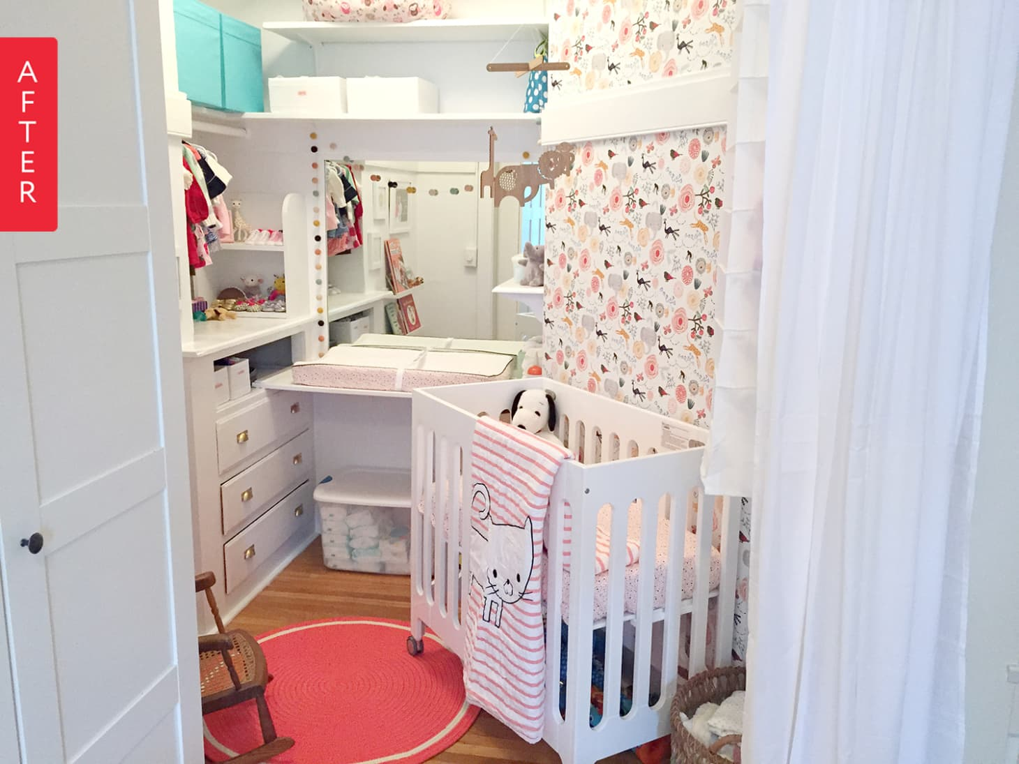 Turn A Walk In Closet Into A Baby Room Nursery Apartment