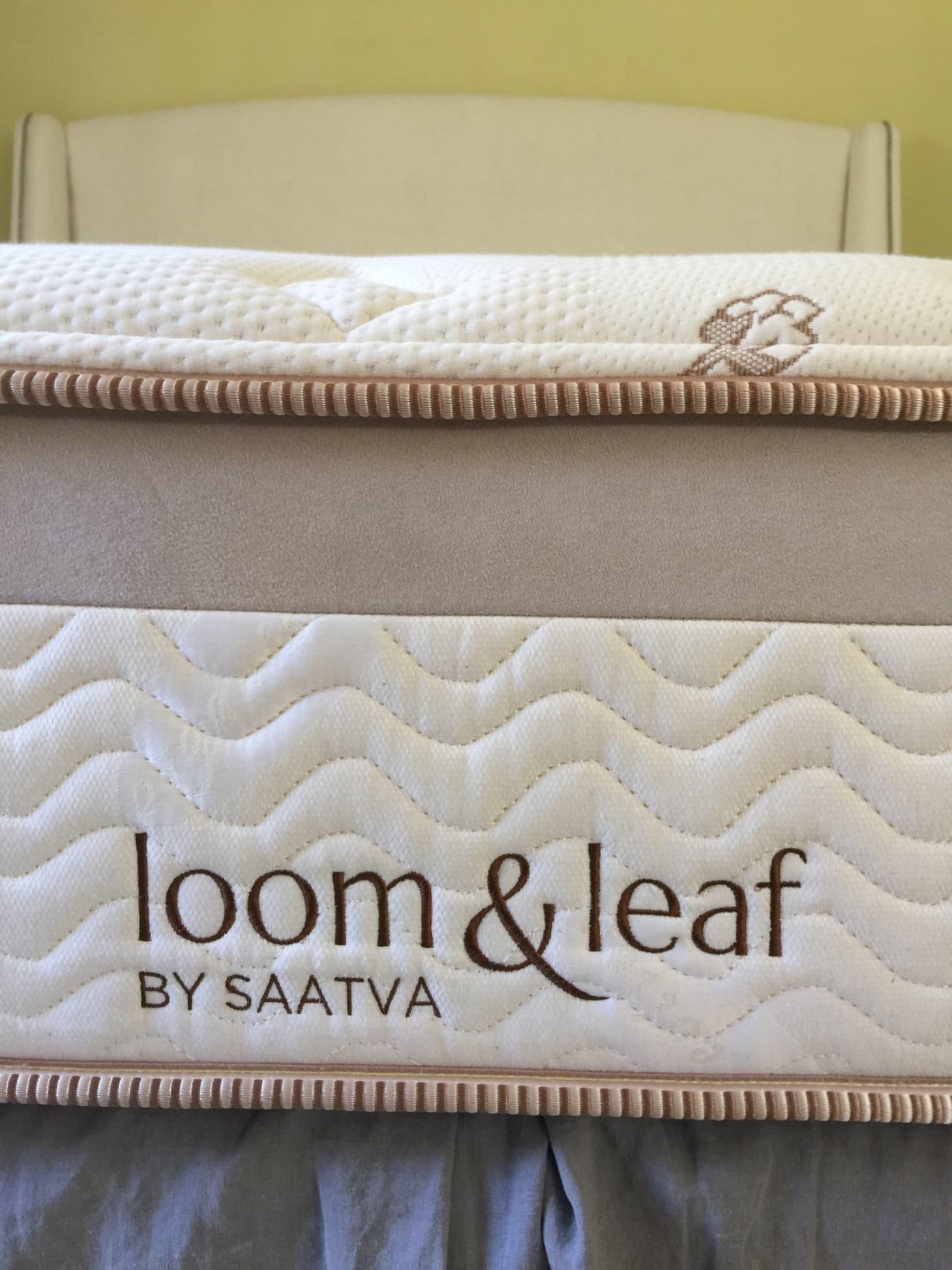 Review of Saatva's Loom & Leaf Memory Foam Mattress