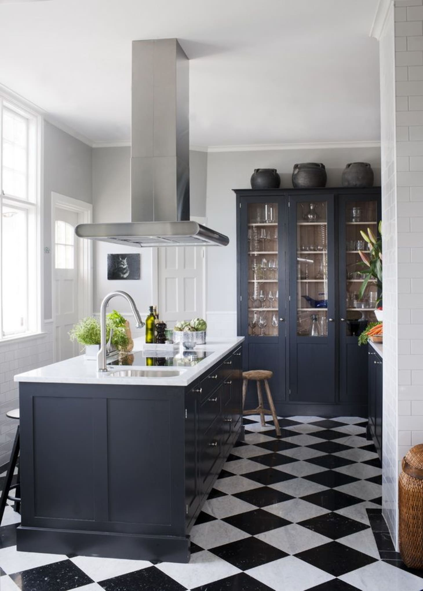 Kitchens with Cabinets Colors that aren't White ...