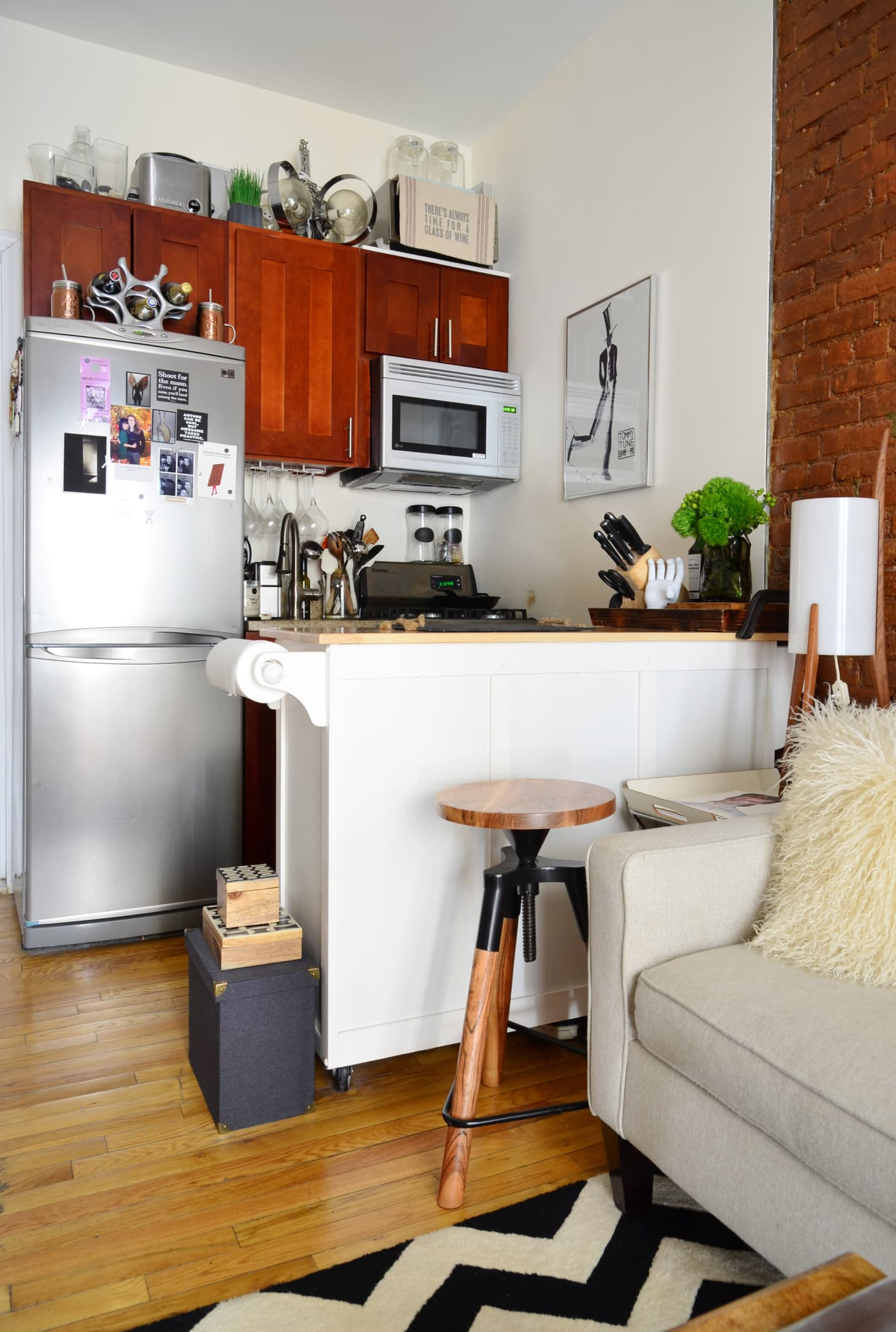 Sneaky Storage Secrets of a (Really Really) Tiny Apartment ...