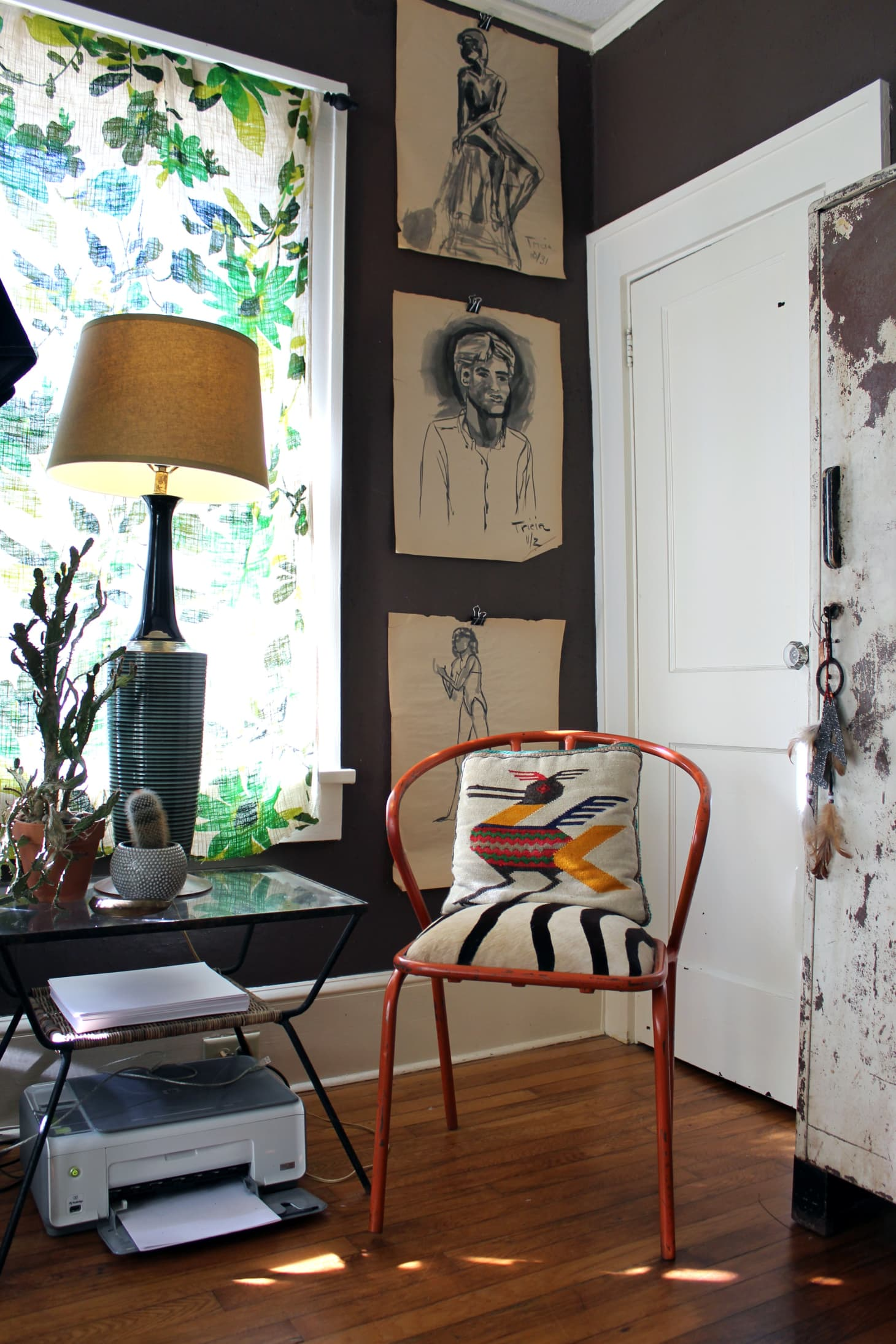 House Tour An Eclectic Boho Inspired Bungalow Apartment