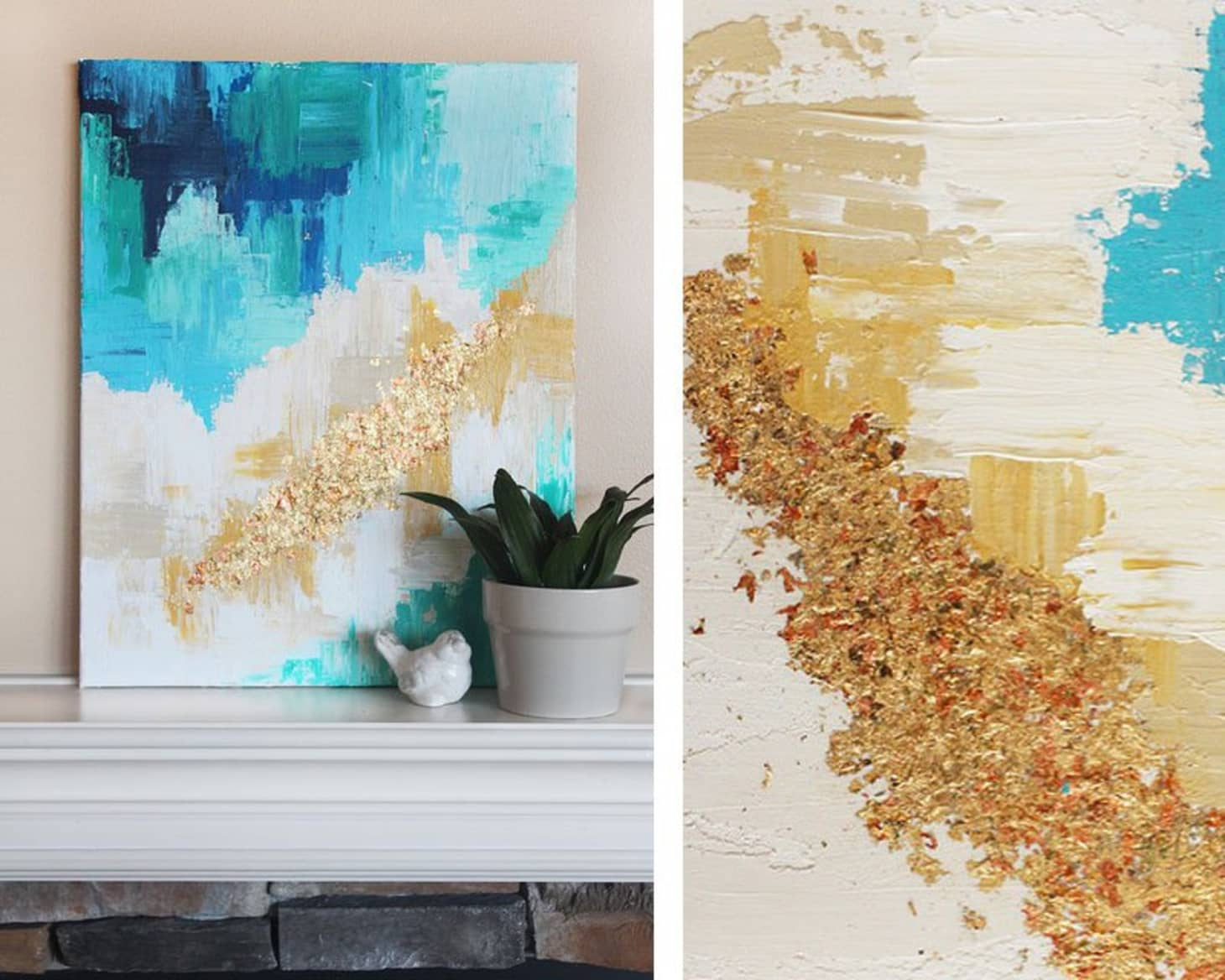 Create Your Own Art With These Abstract Art Diys Apartment