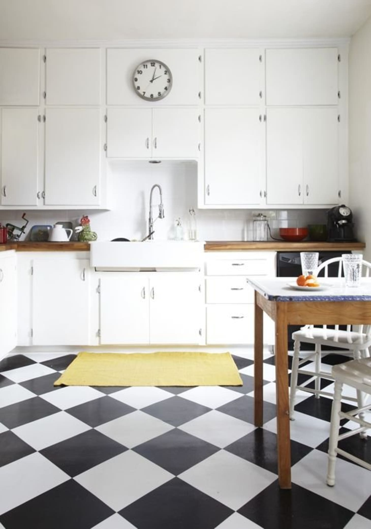 Price Estimates: Black & White Checkerboard Tiles for Every ...