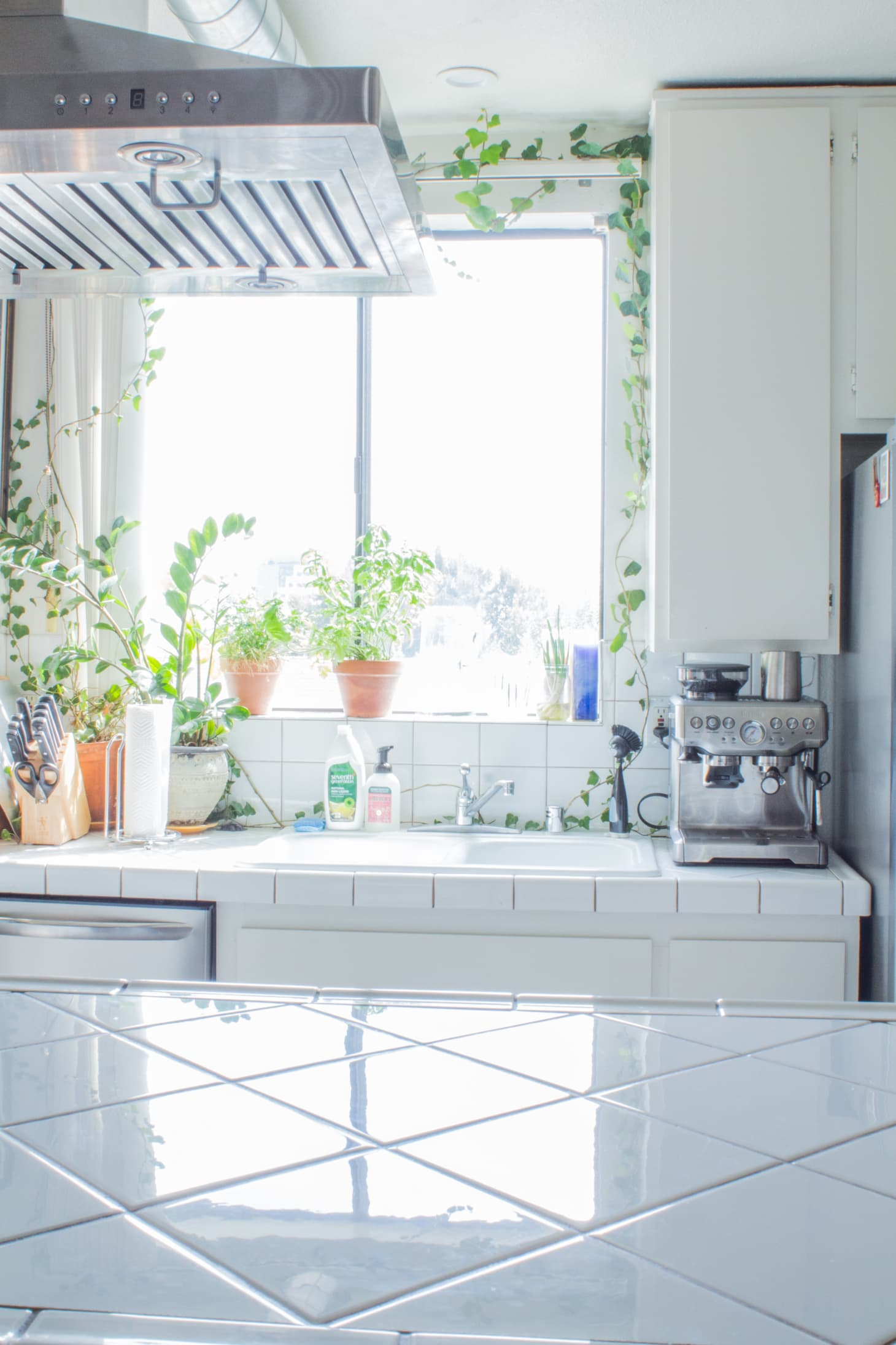 Kitchen Sink Window Decorating Ideas | Apartment Therapy