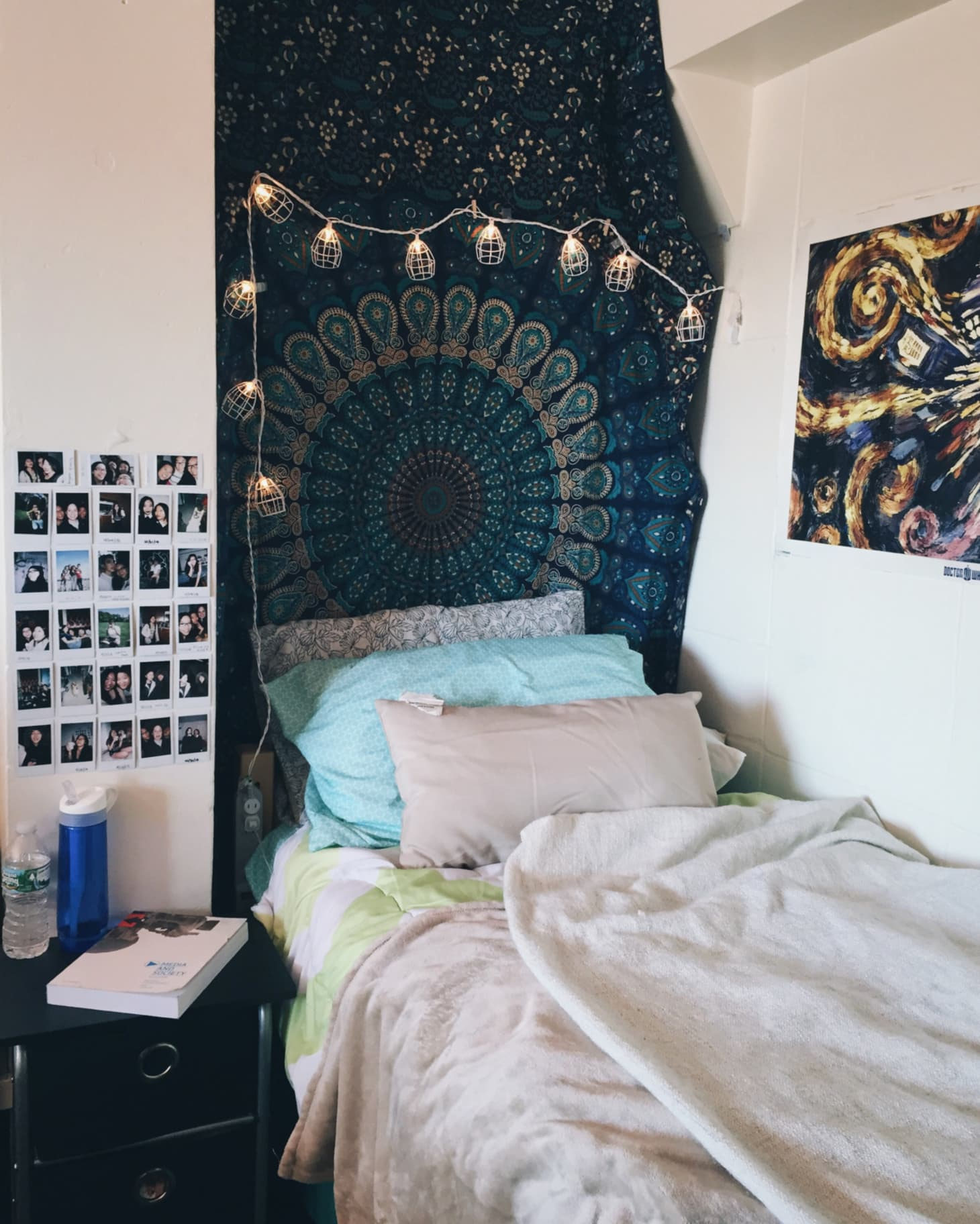 Inspiration From 10 Super Stylish Real Dorm Rooms