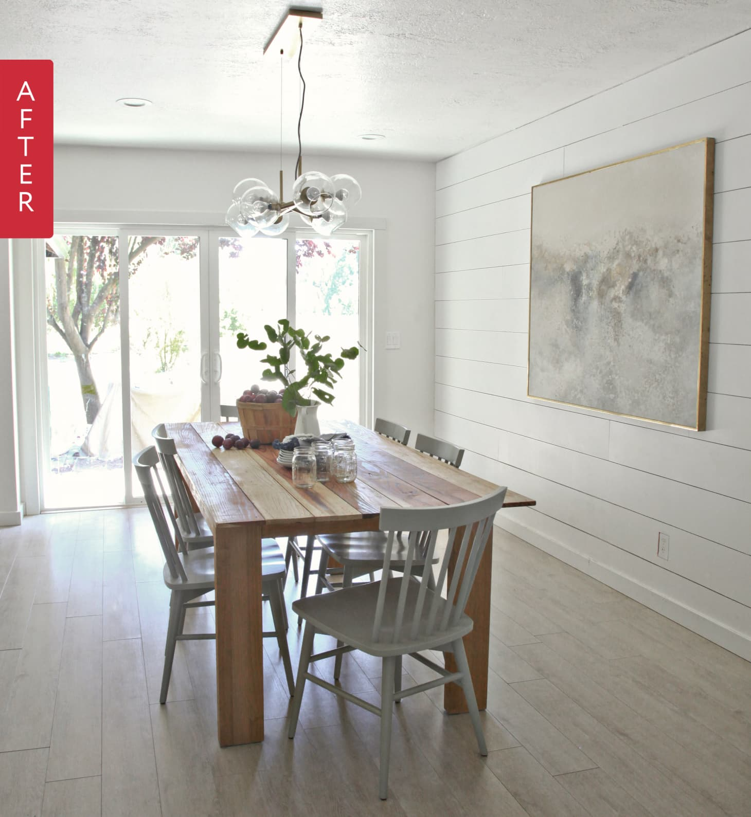 Looking For Apartment: Before & After: A Modern, Scandinavian Inspired Look For A