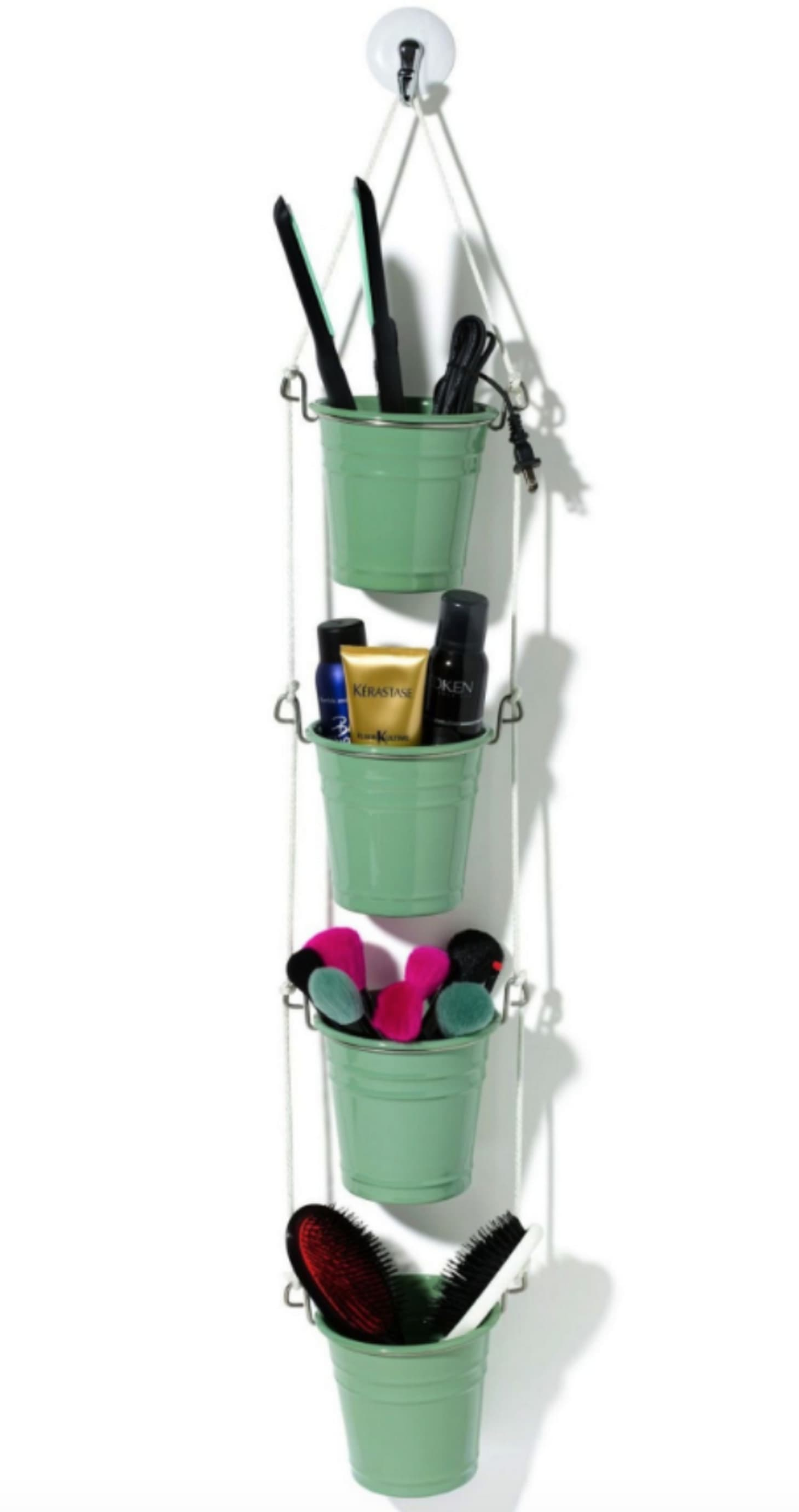 6 Easy DIY Ways to Organize Hair Styling Tools in the