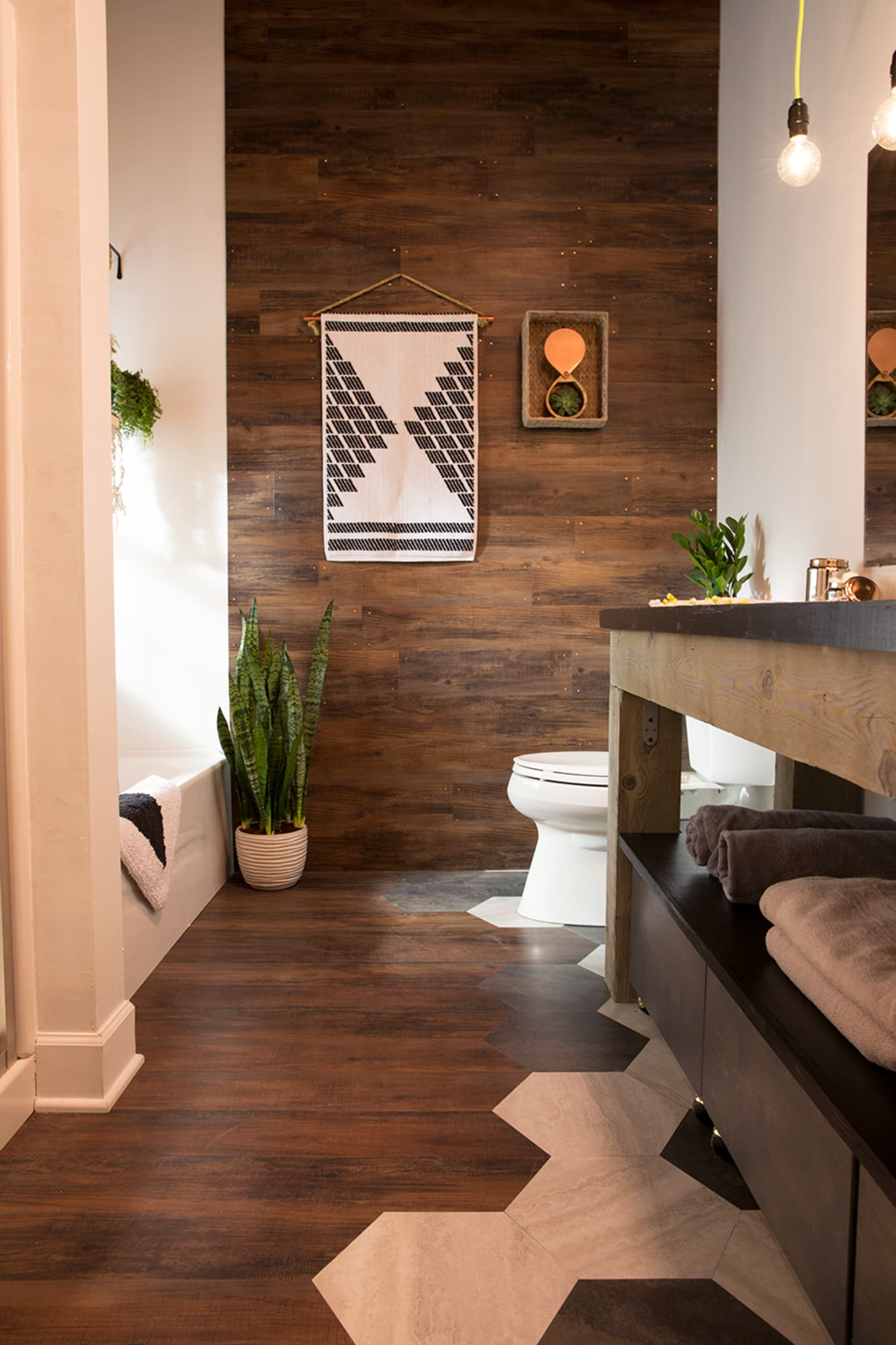 Peel And Stick Tile Flooring That Ups The Style Ante