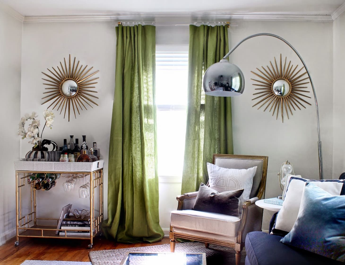 How To Make Curtains More Custom Stylish Apartment Therapy