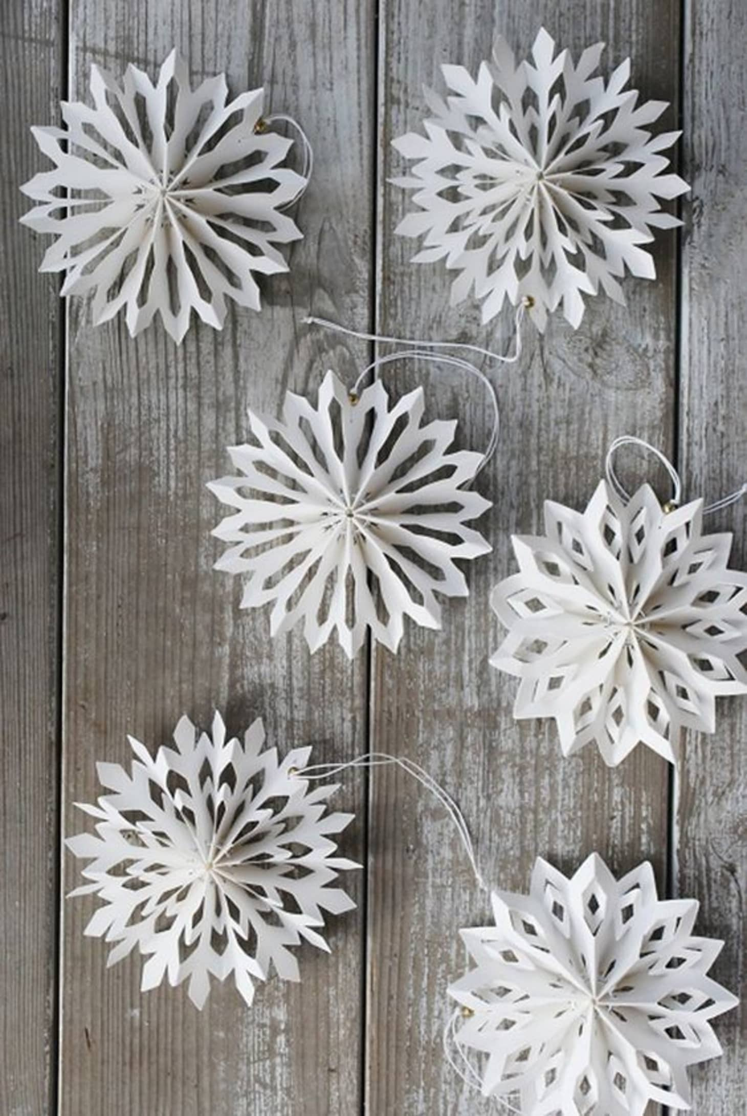 Paper Snowflake Patterns And Next Level Projects Apartment Therapy