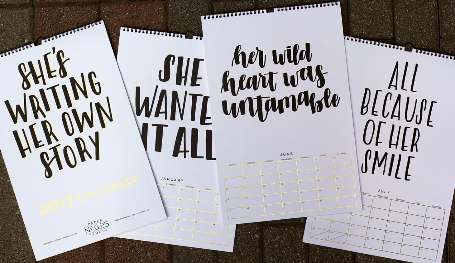 Best Wall Calendars for 2017 | Apartment Therapy