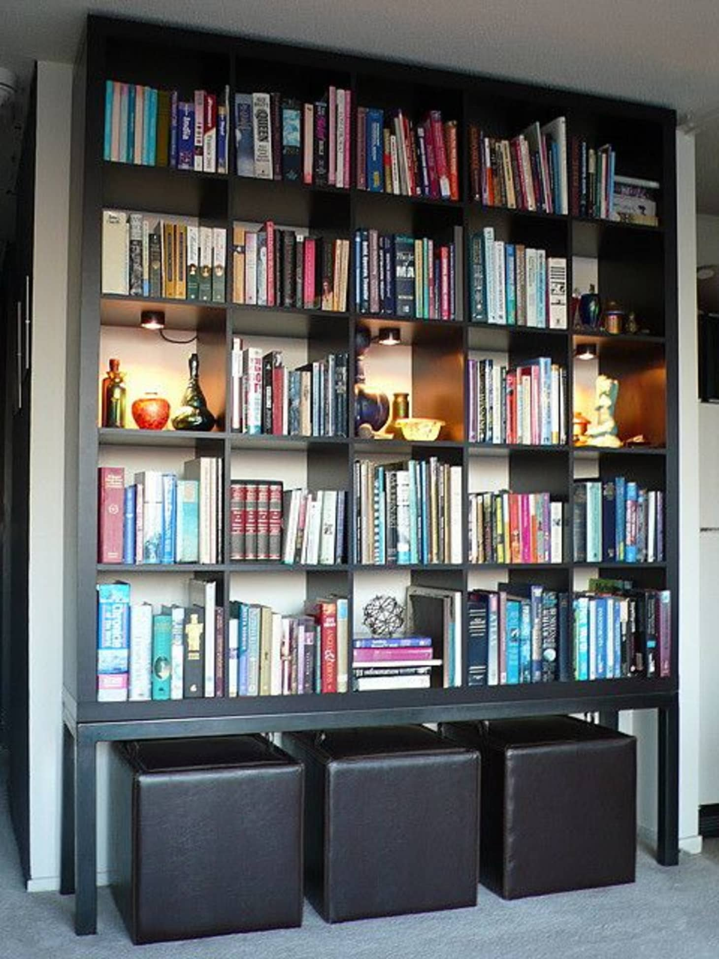 competitive price 31772 211c4 15 Super Smart Ways to Use the IKEA Kallax Bookcase ...