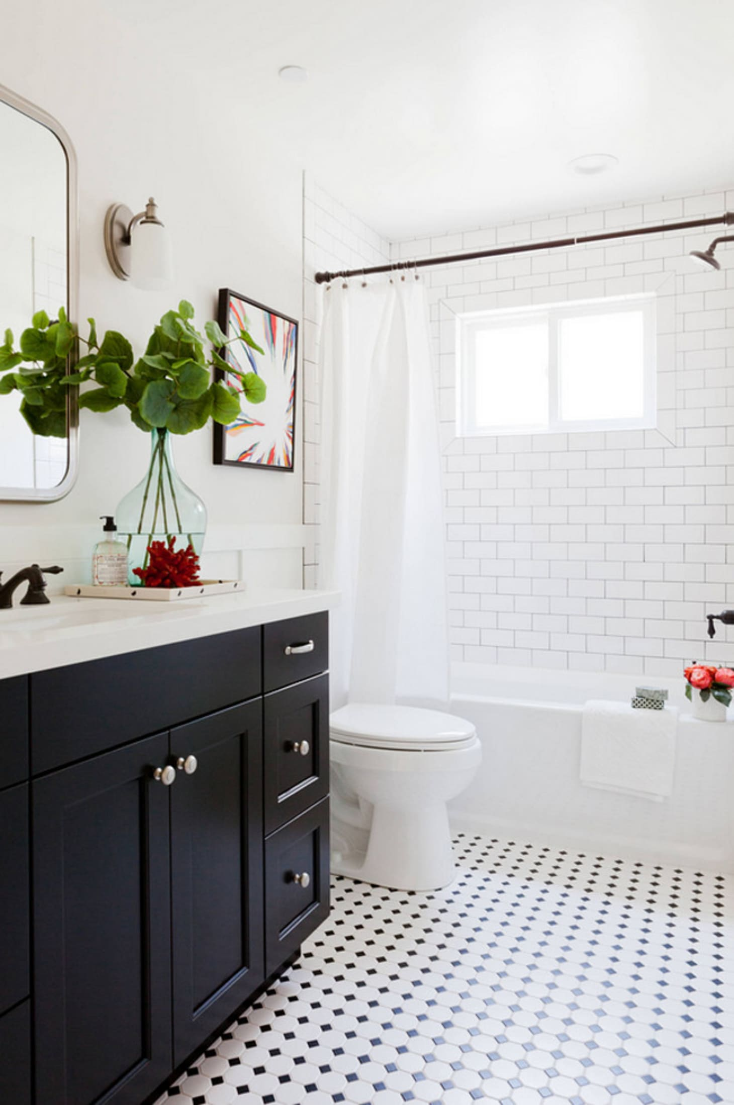 Mosaic Tile Floor Ideas for Vintage Style Bathrooms ...
