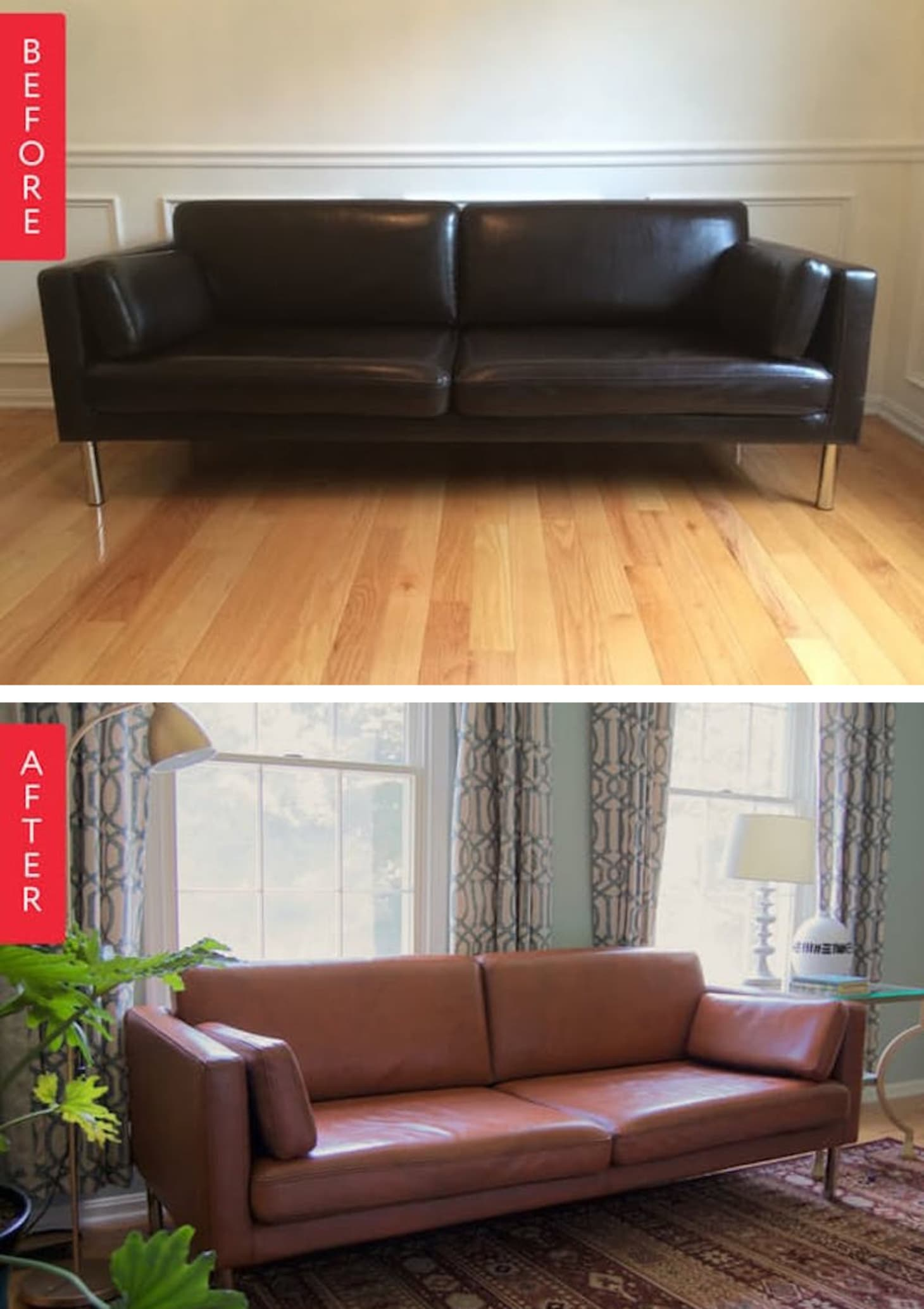 How to Make Your Old Ugly Sofa Look New Again | Apartment ...