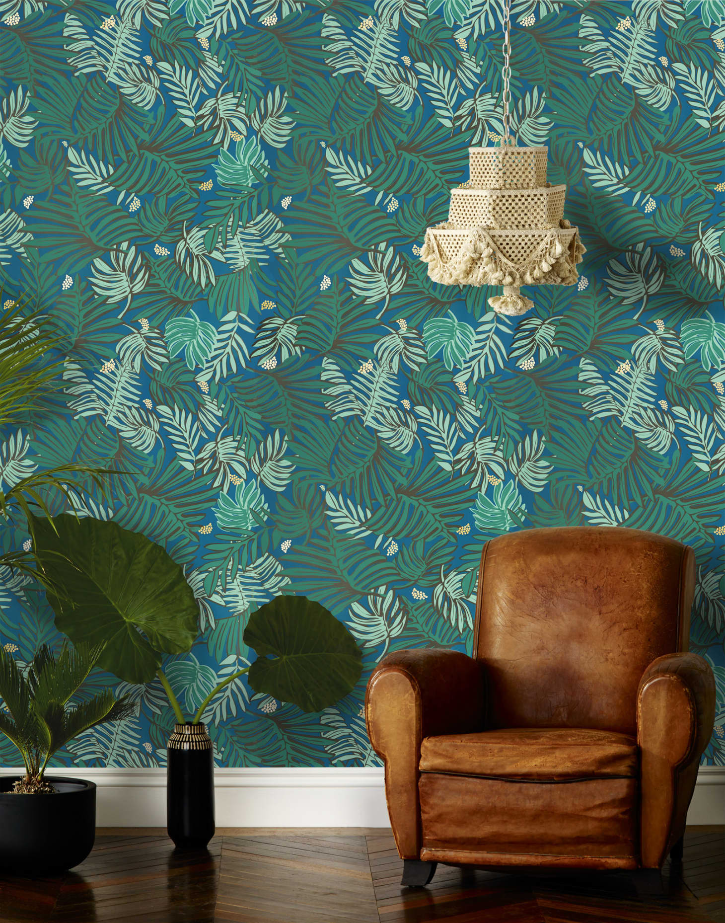 Where to Buy Palm Tree Leaf & Tropical Print Wallpaper ...