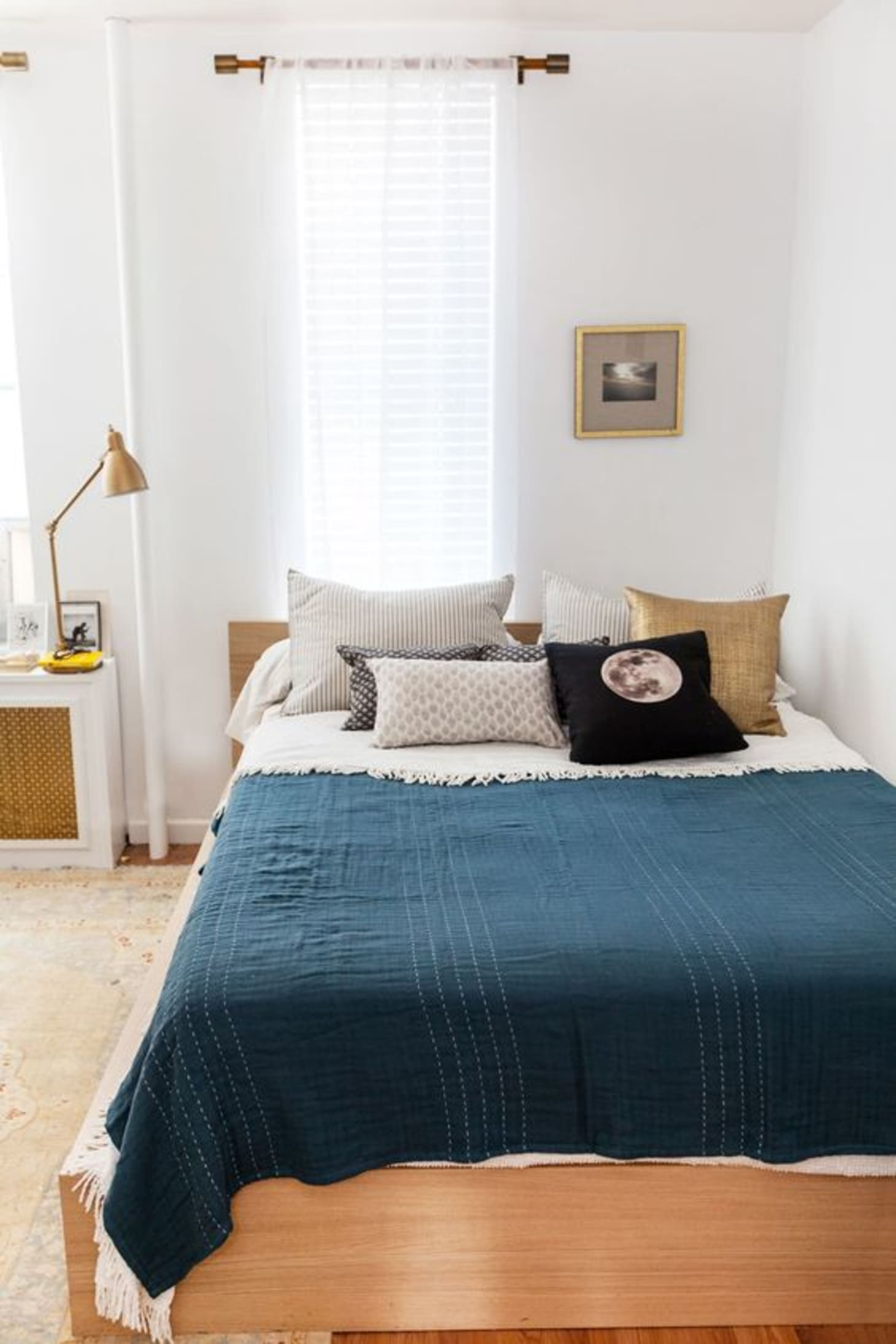 Small Window Curtains Bedroom Apartment Therapy