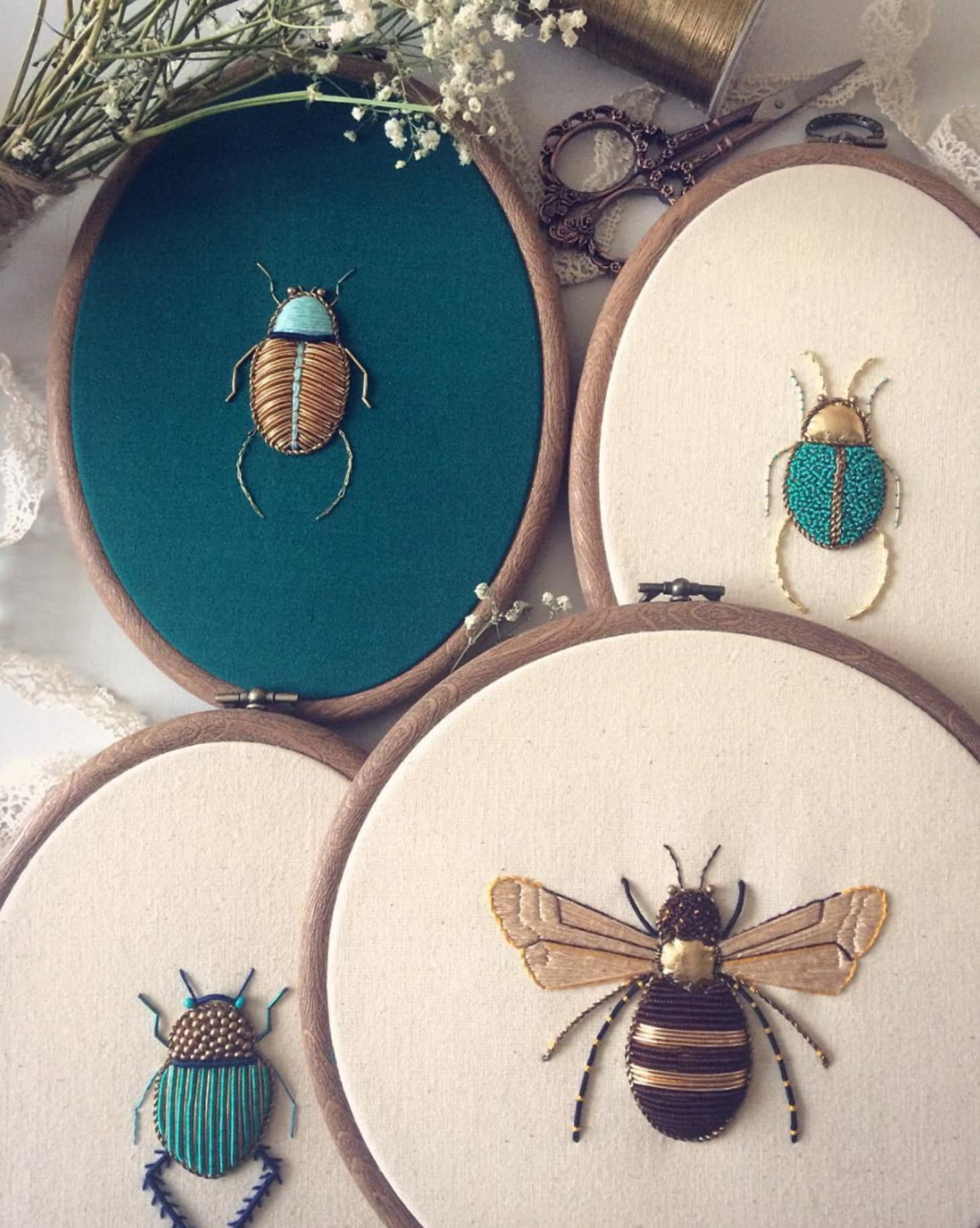 Stitch, Please! 9 Embroiderers Serving Up Instagram Eye