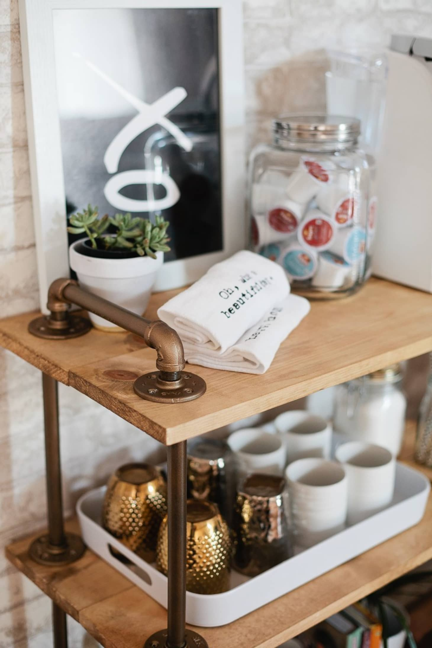 The Coffee Cart Is The New Bar Cart Diy Coffee Carts And